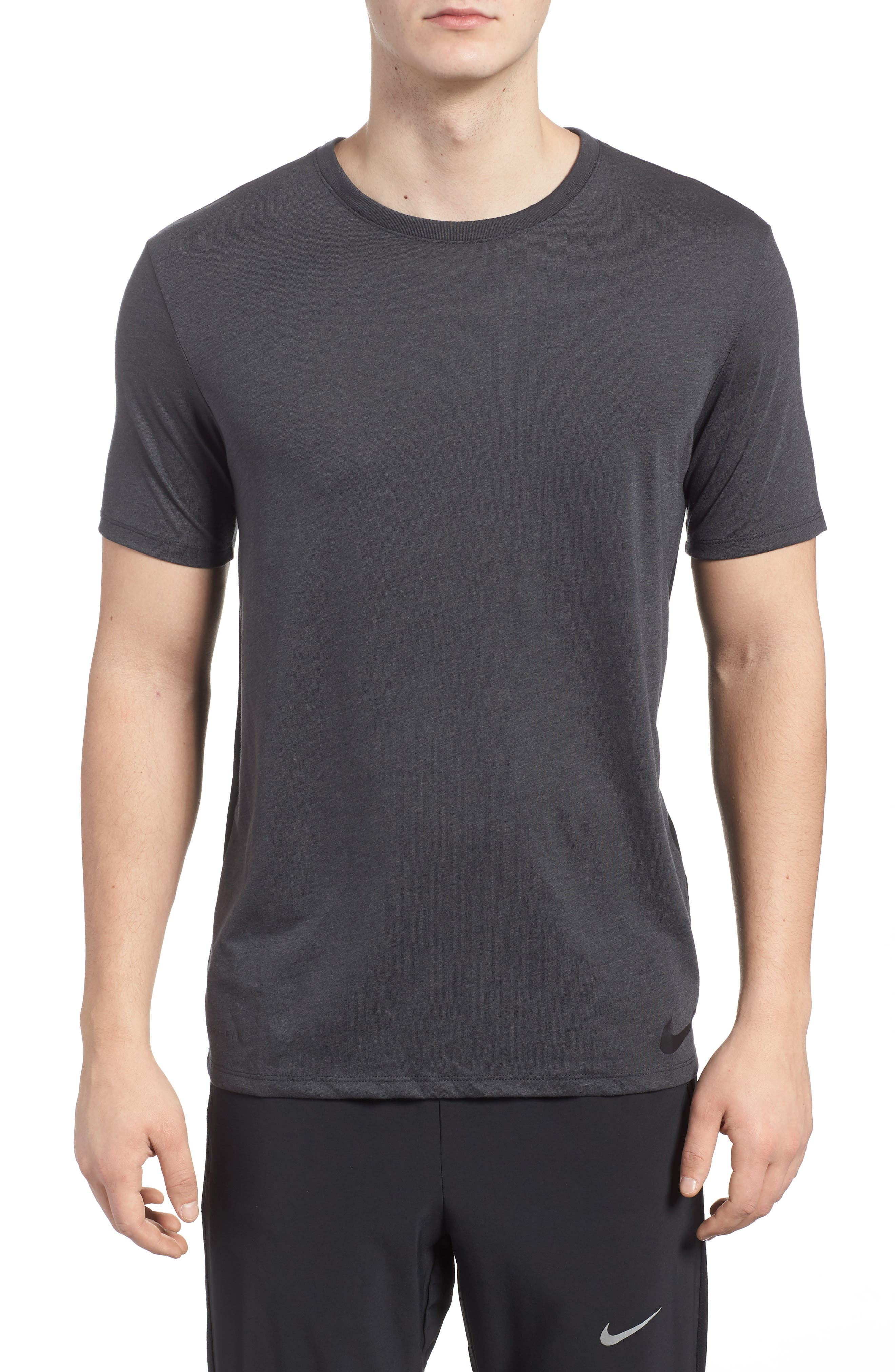 Training Dry Project X T-Shirt,                             Main thumbnail 1, color,                             Anthracite/ Black
