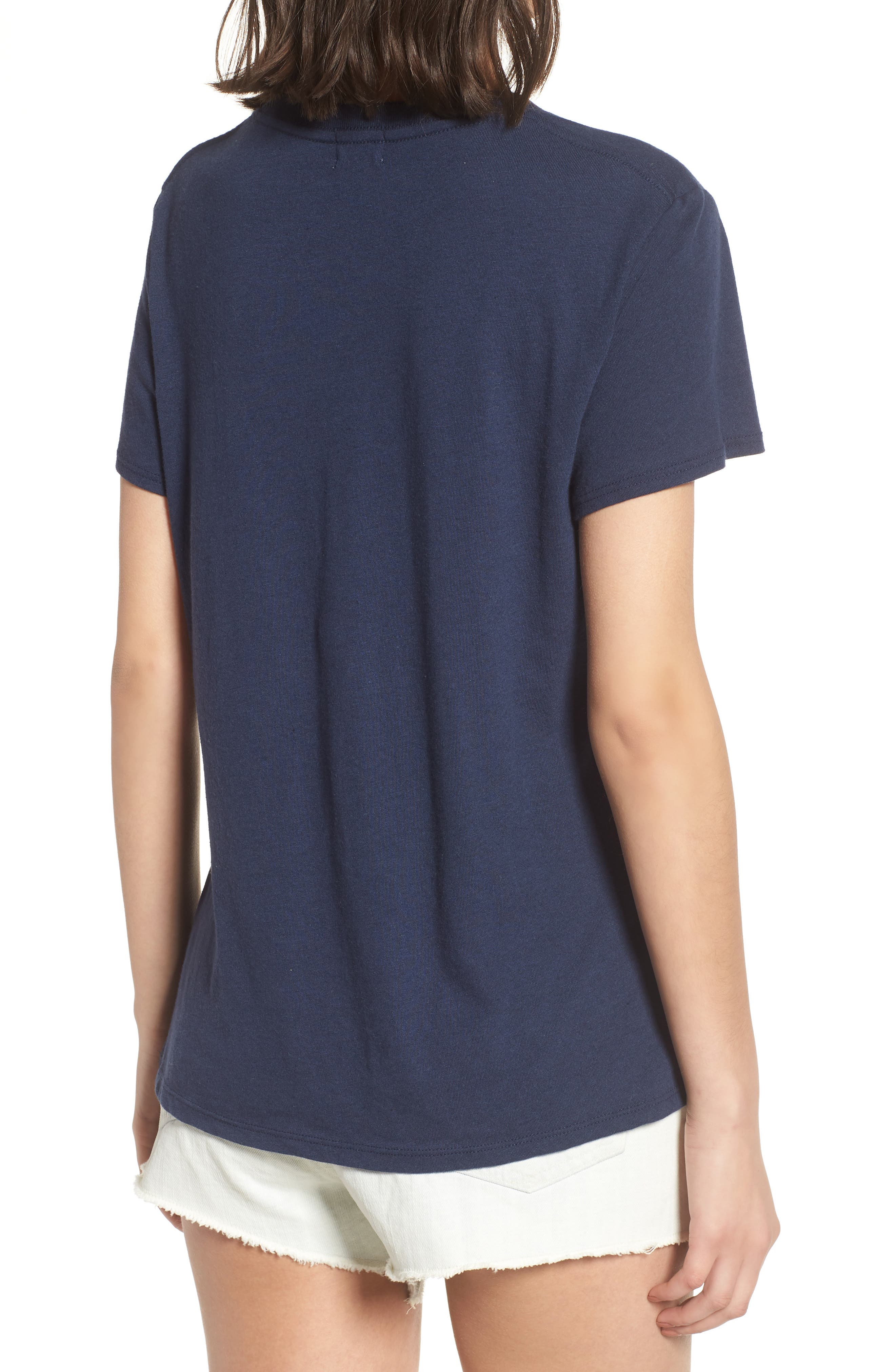 Poolside Graphic Tee,                             Alternate thumbnail 2, color,                             Navy
