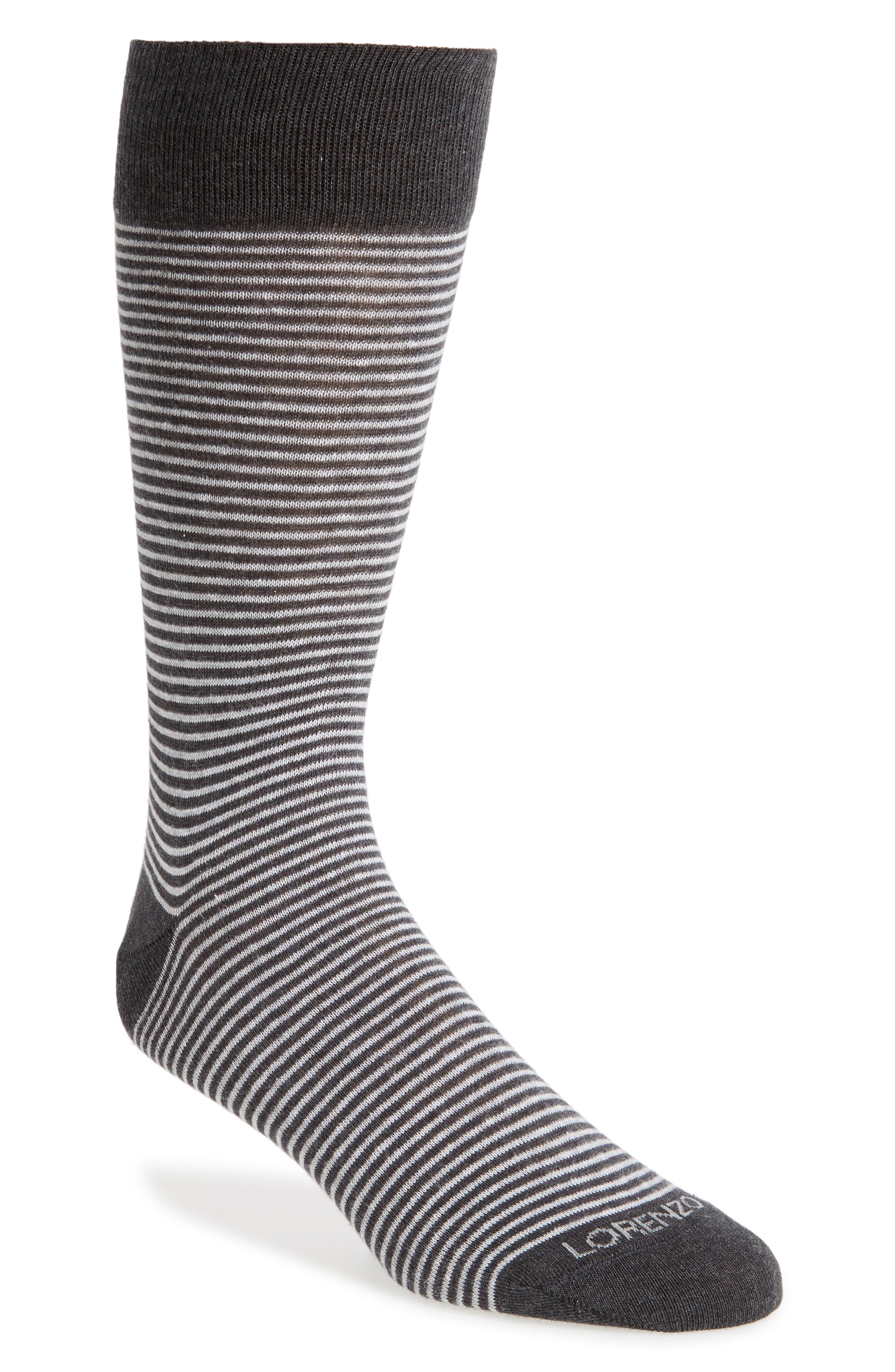 Lorenzo Uomo Mille Righe Stripe Socks