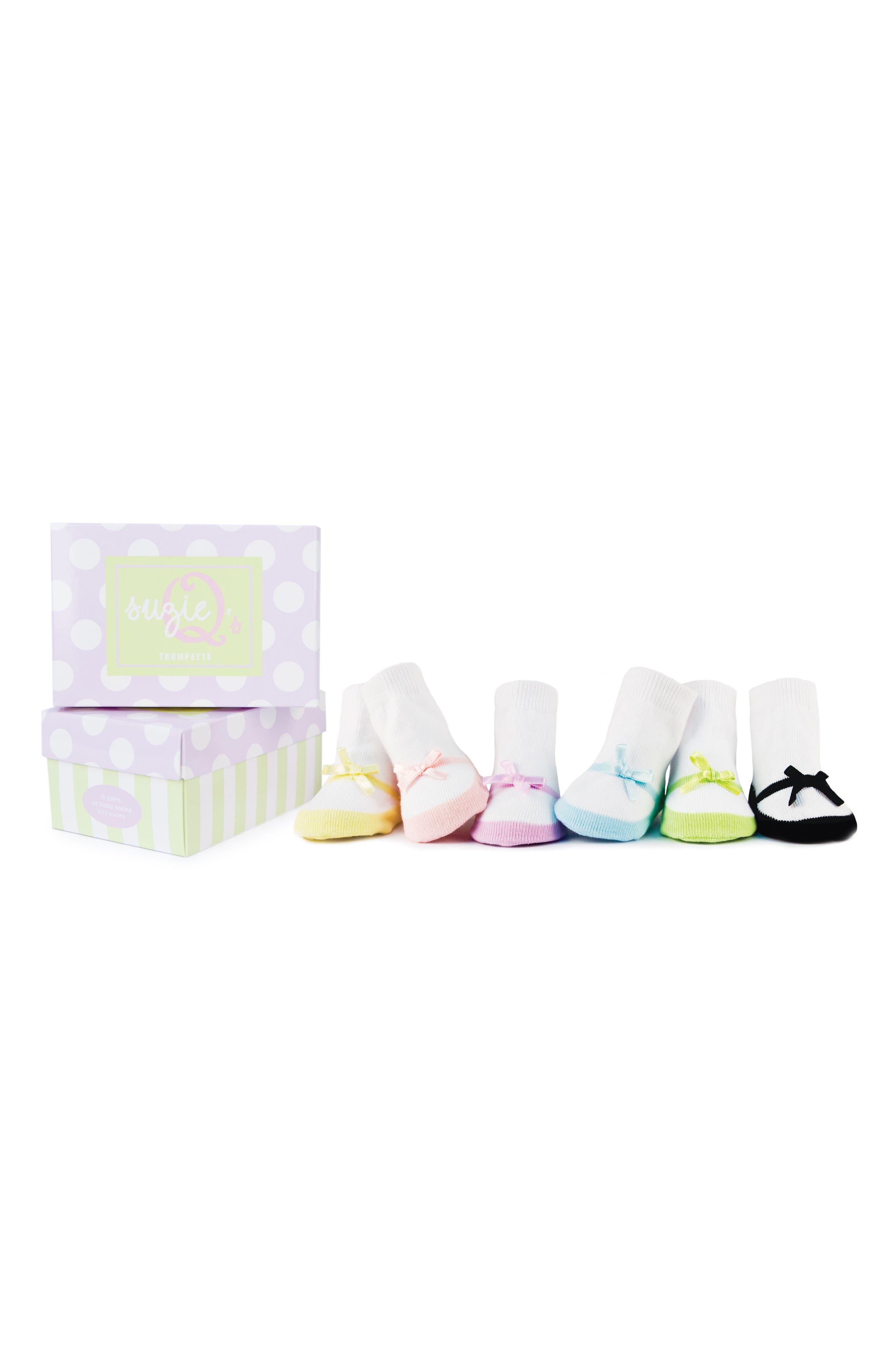 Main Image - Trumpette Socks Gift Set (Baby Girls)