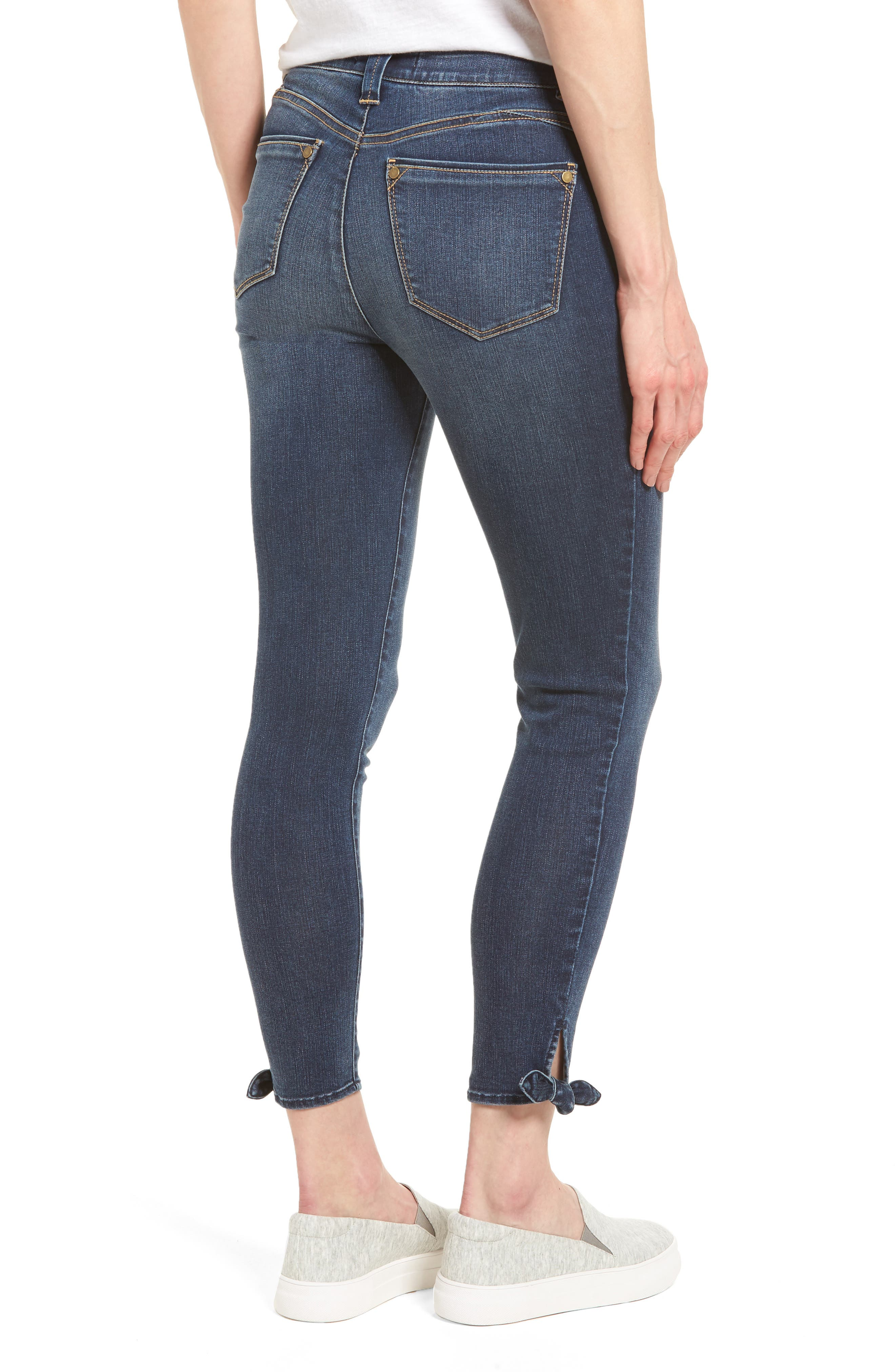 Ab-solution Ankle Skinny Skimmer Jeans,                             Alternate thumbnail 2, color,                             Bl- Blue