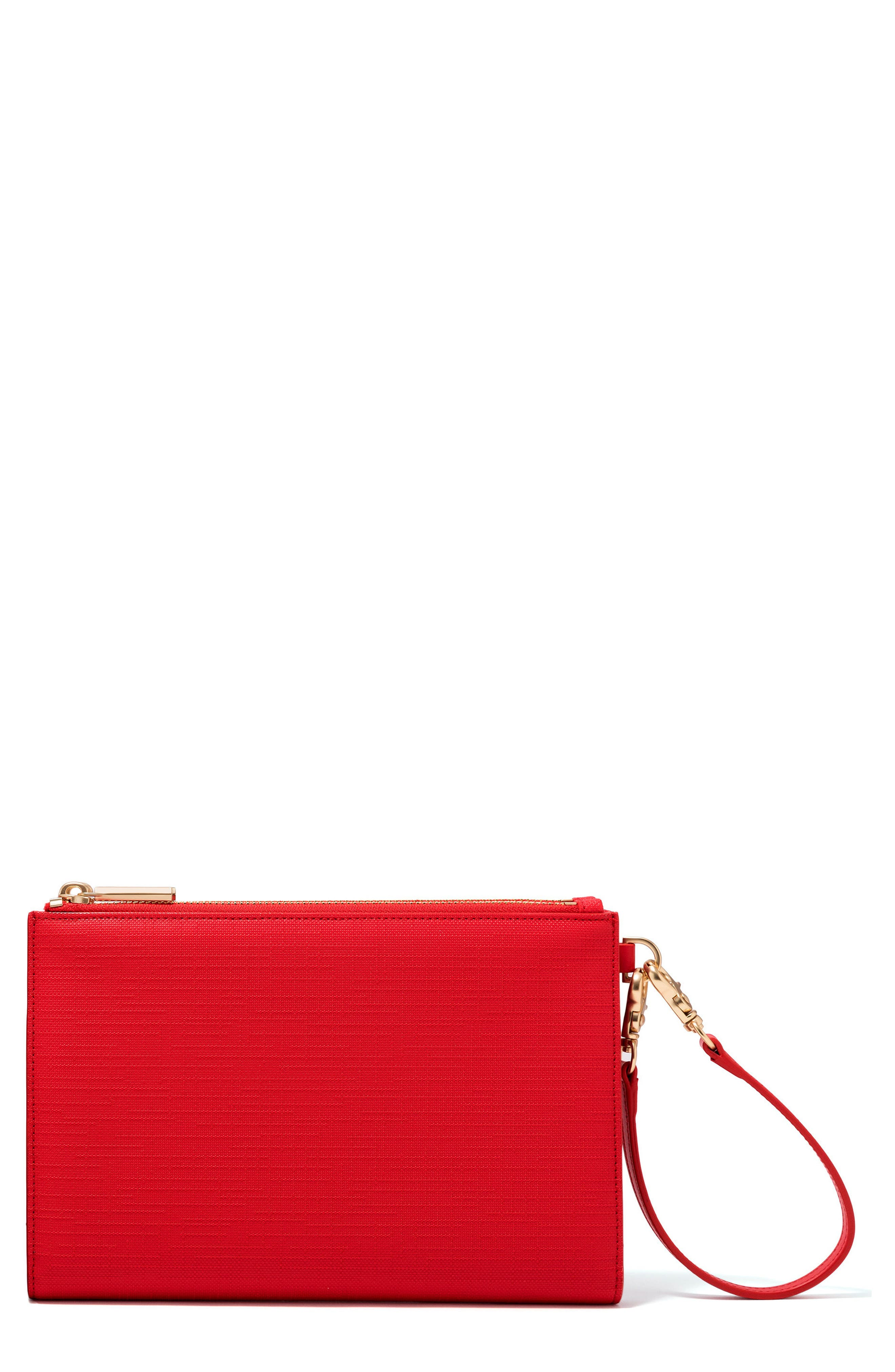 Main Image - Dagne Dover Signature Essentials Coated Canvas Clutch/Wallet