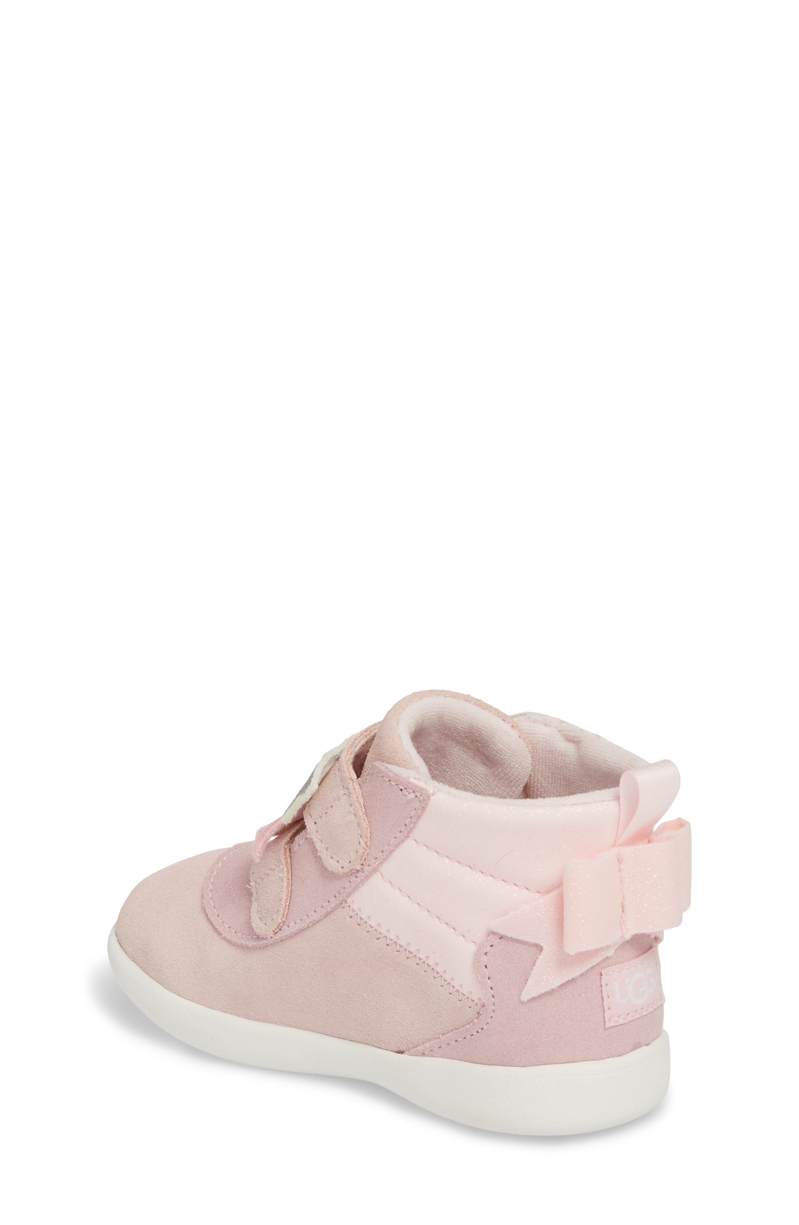 Livv Sunglass Appliqué Sneaker,                             Alternate thumbnail 2, color,                             Seashell Pink