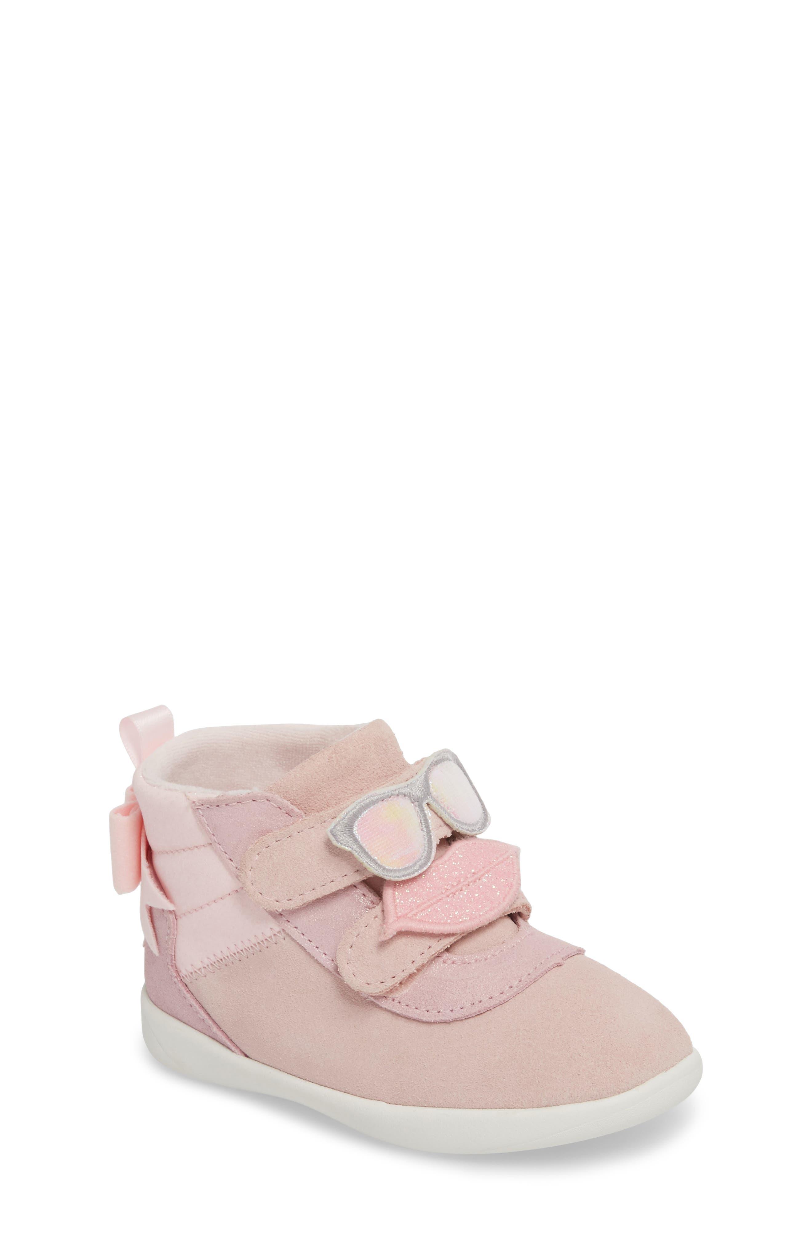 UGG® Livv Sunglass Appliqué Sneaker (Walker & Toddler)