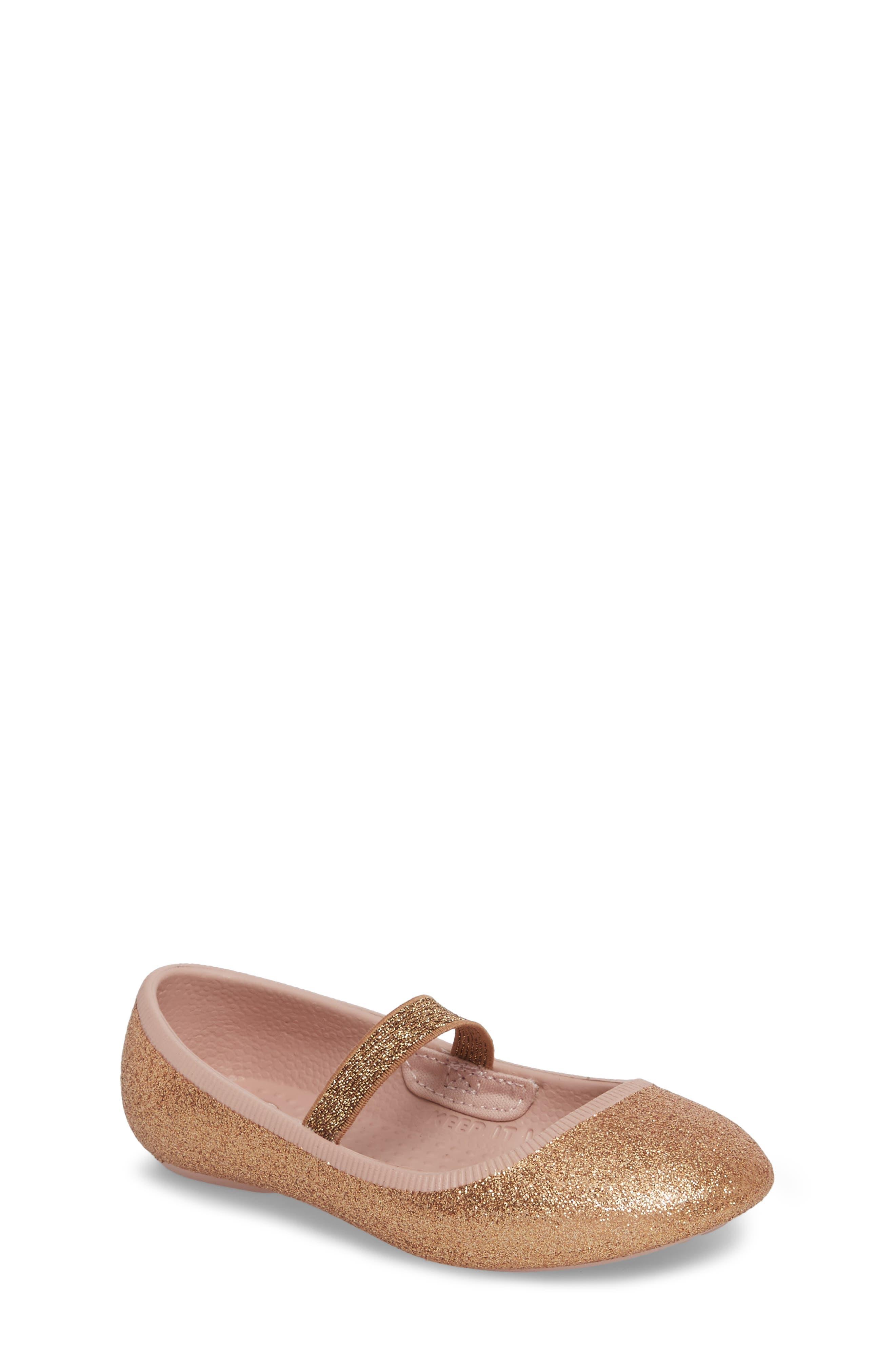 Alternate Image 1 Selected - Native Shoes Margot Bling Glitter Mary Jane (Baby, Walker, Toddler & Little Kid)