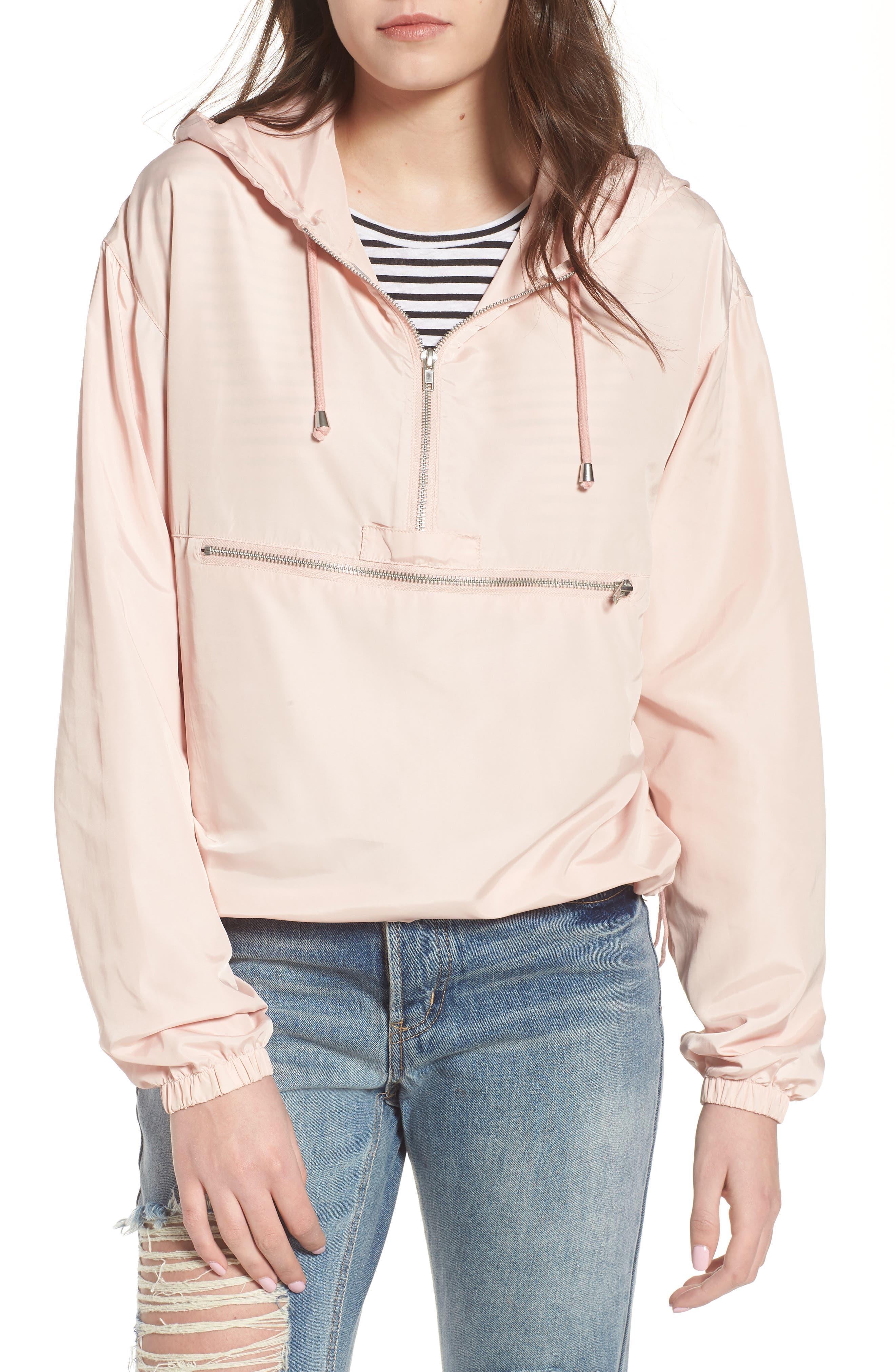 Lyannia Anorak,                         Main,                         color, Peachy Pink