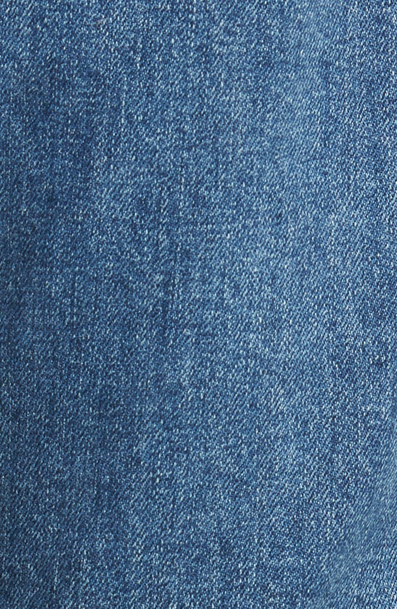 Emerson Slim Boyfriend Jeans,                             Alternate thumbnail 6, color,                             Century