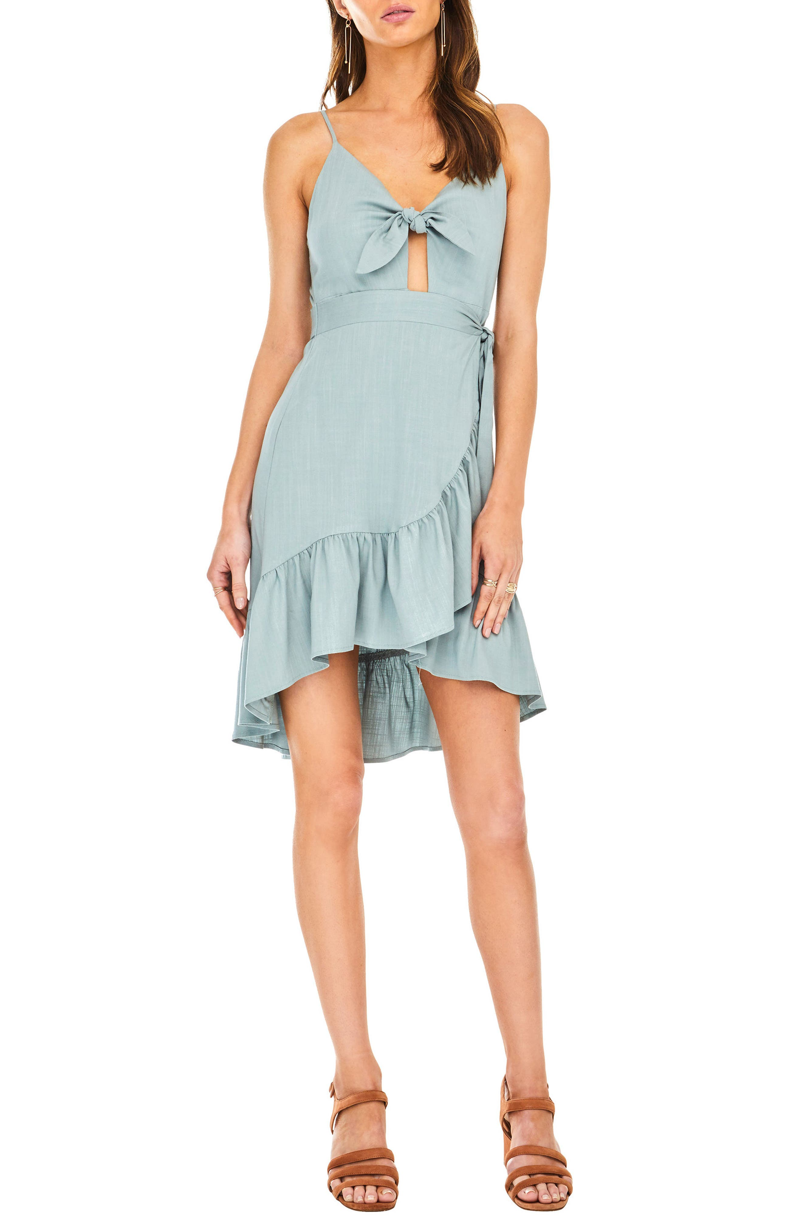 ASTR the Label Sandy High/Low Minidress