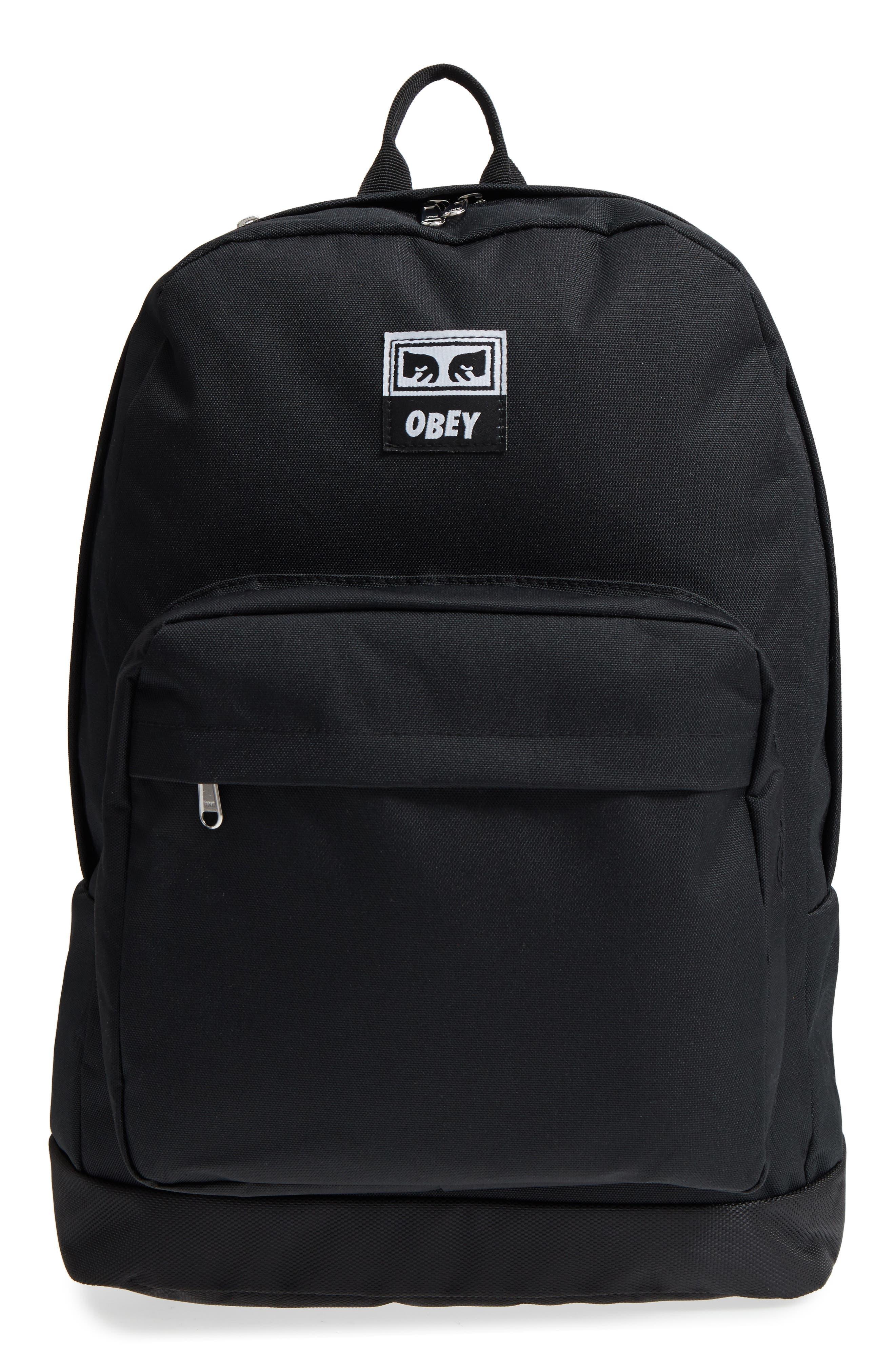 Drop Out Juvee Backpack,                             Main thumbnail 1, color,                             Black