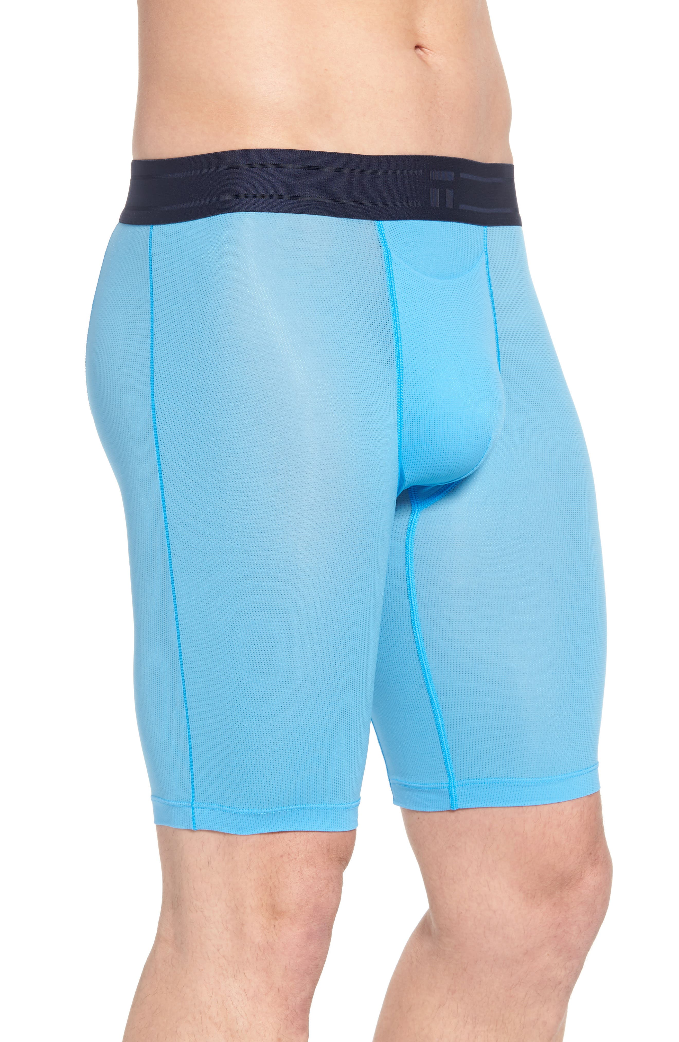 Air Boxer Briefs,                             Alternate thumbnail 3, color,                             Azure