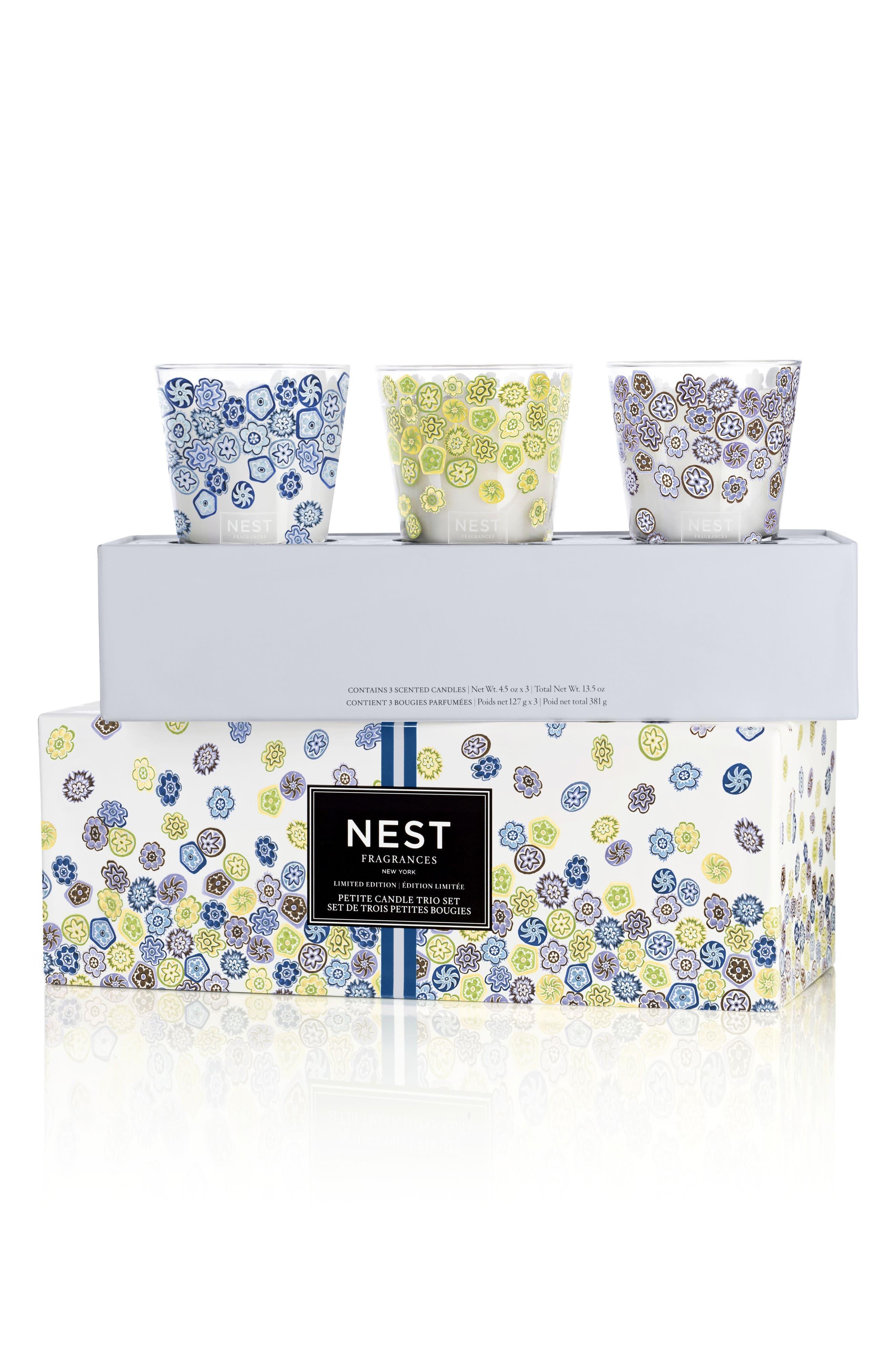 NEST Fragrances Petite Candle Trio Set (Limited Edition)