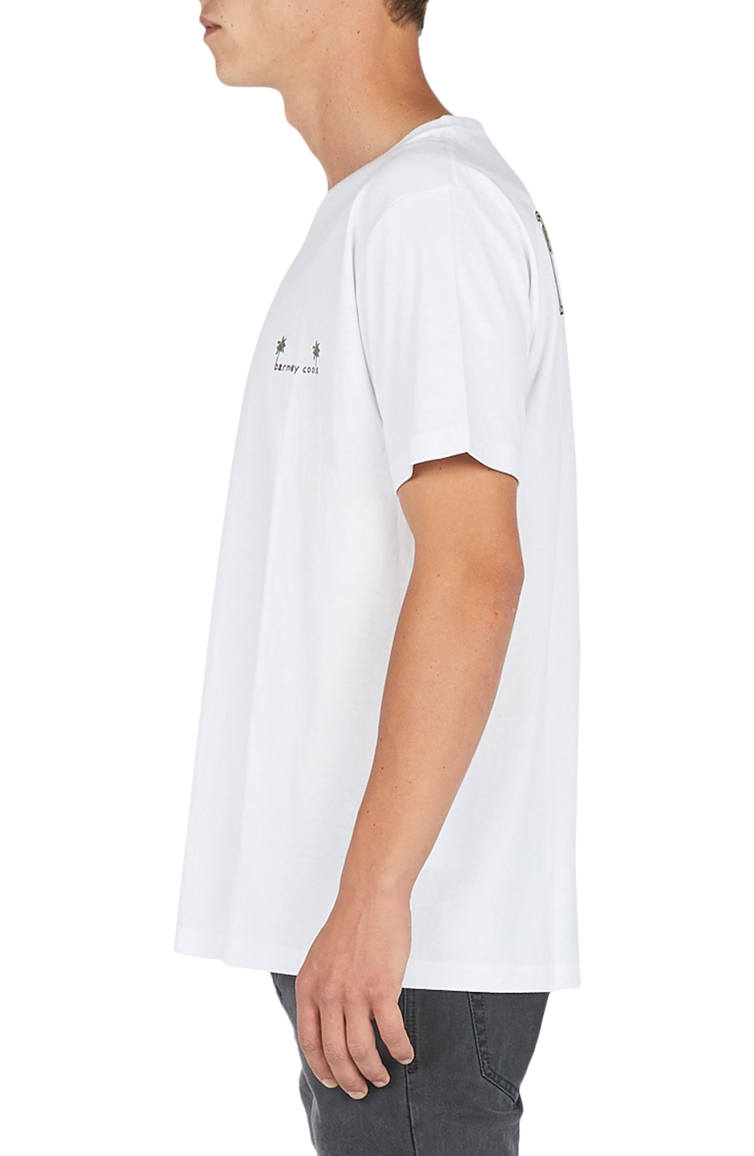 Life's Tough T-Shirt,                             Alternate thumbnail 3, color,                             White