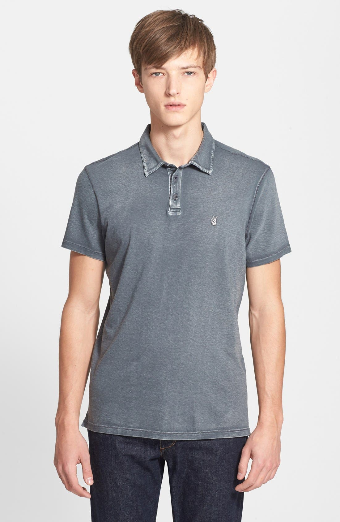 John Varvatos Star USA Slim Fit Cotton Polo