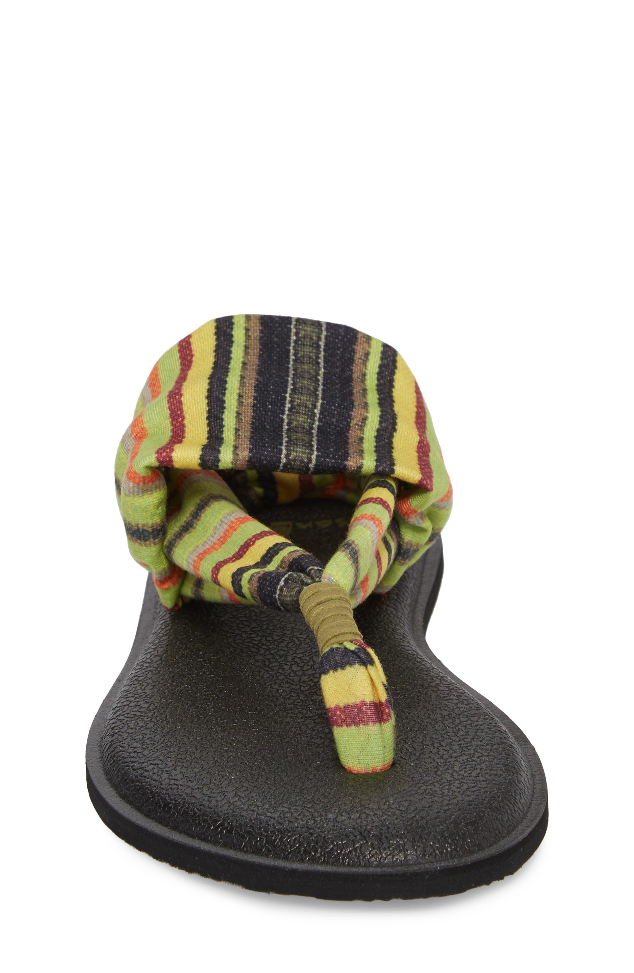 Alternate Image 4  - Sanuk Yoga Sling Burst Sandal (Toddler, Little Kid & Big Kid)