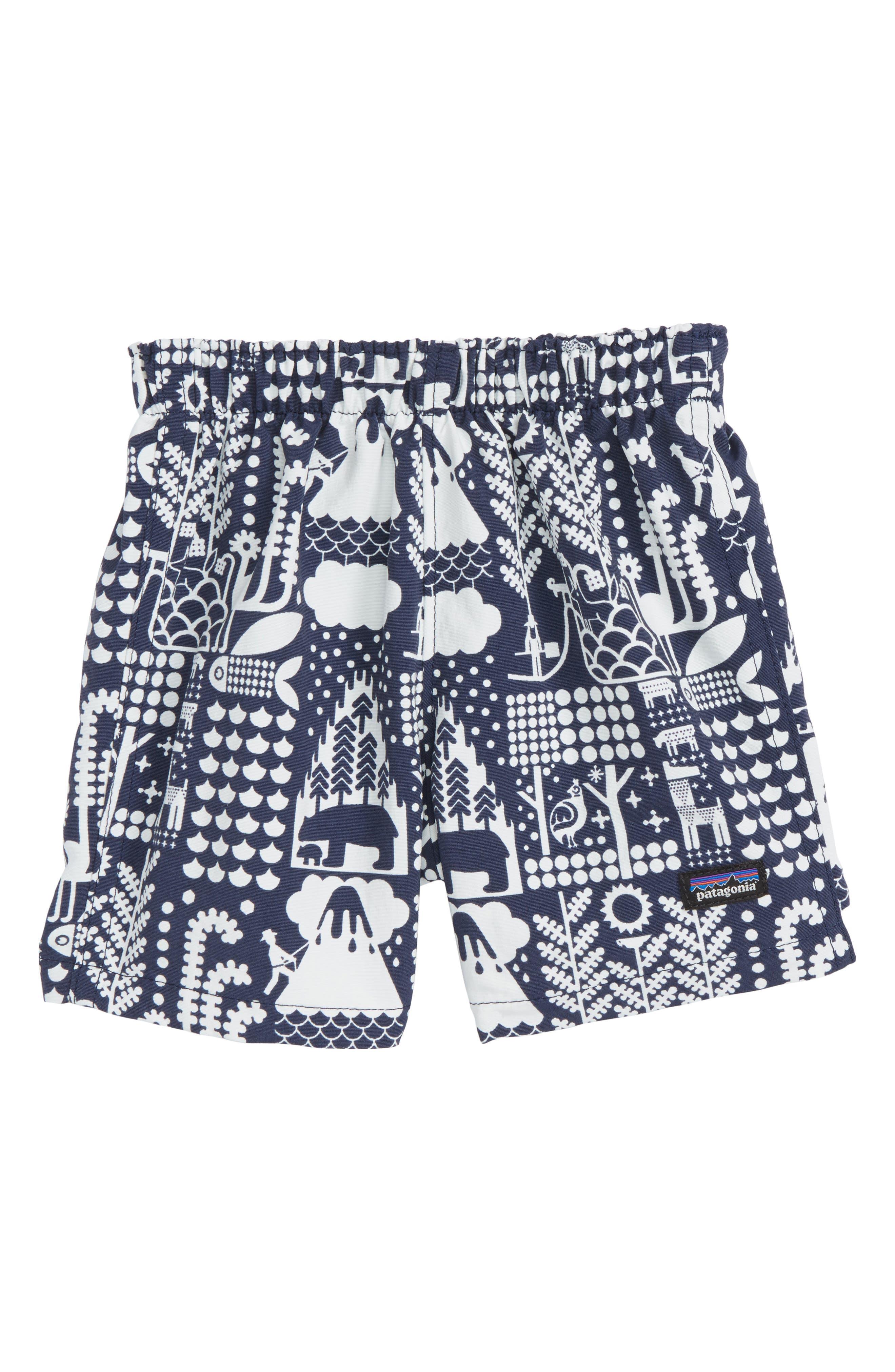 Baby Baggies<sup>™</sup> Shorts,                         Main,                         color, Mqcn Mcquail Classic Navy