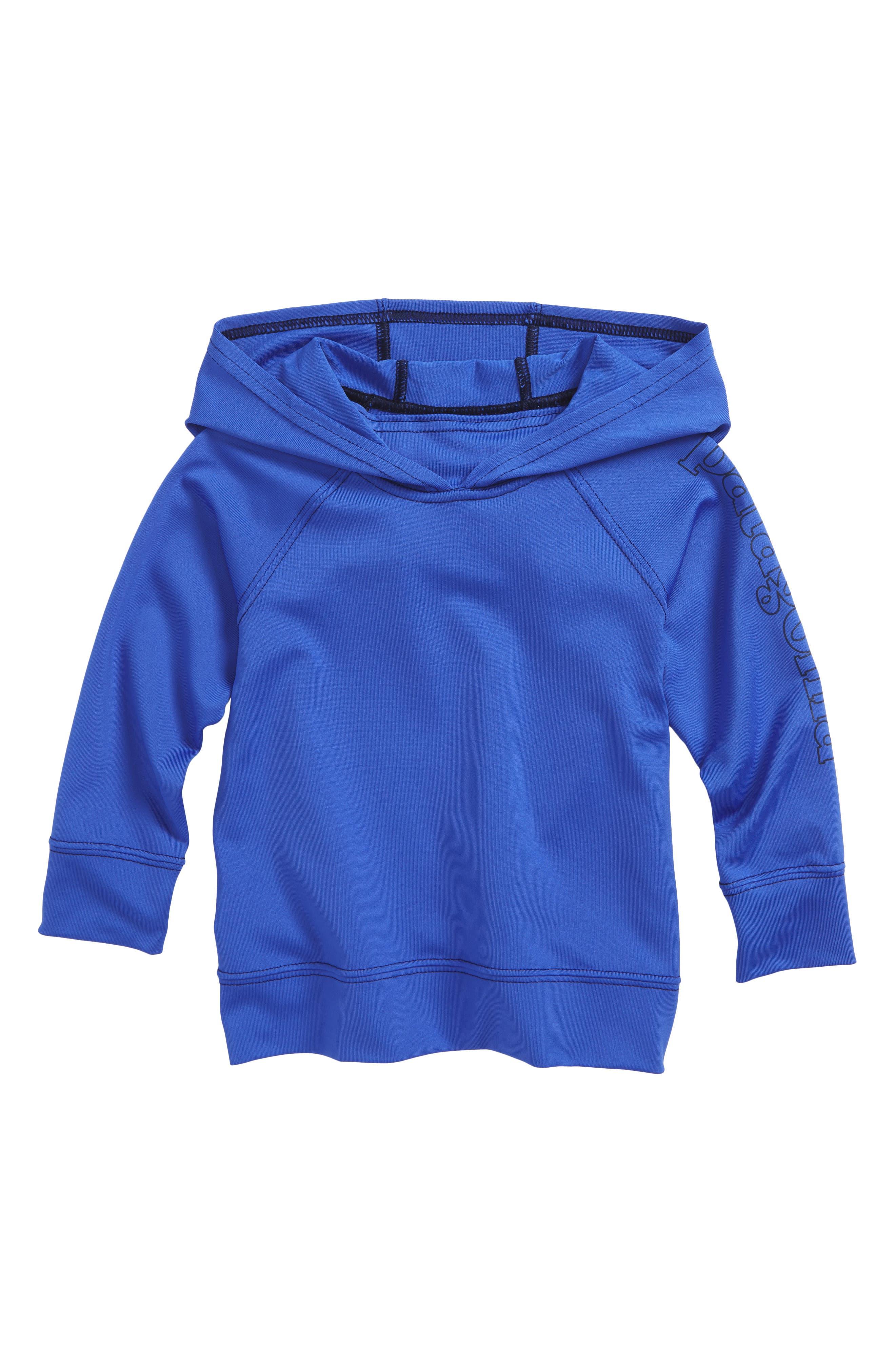 Capilene<sup>®</sup> Sun Hoodie,                             Main thumbnail 1, color,                             Imb Imperial Blue