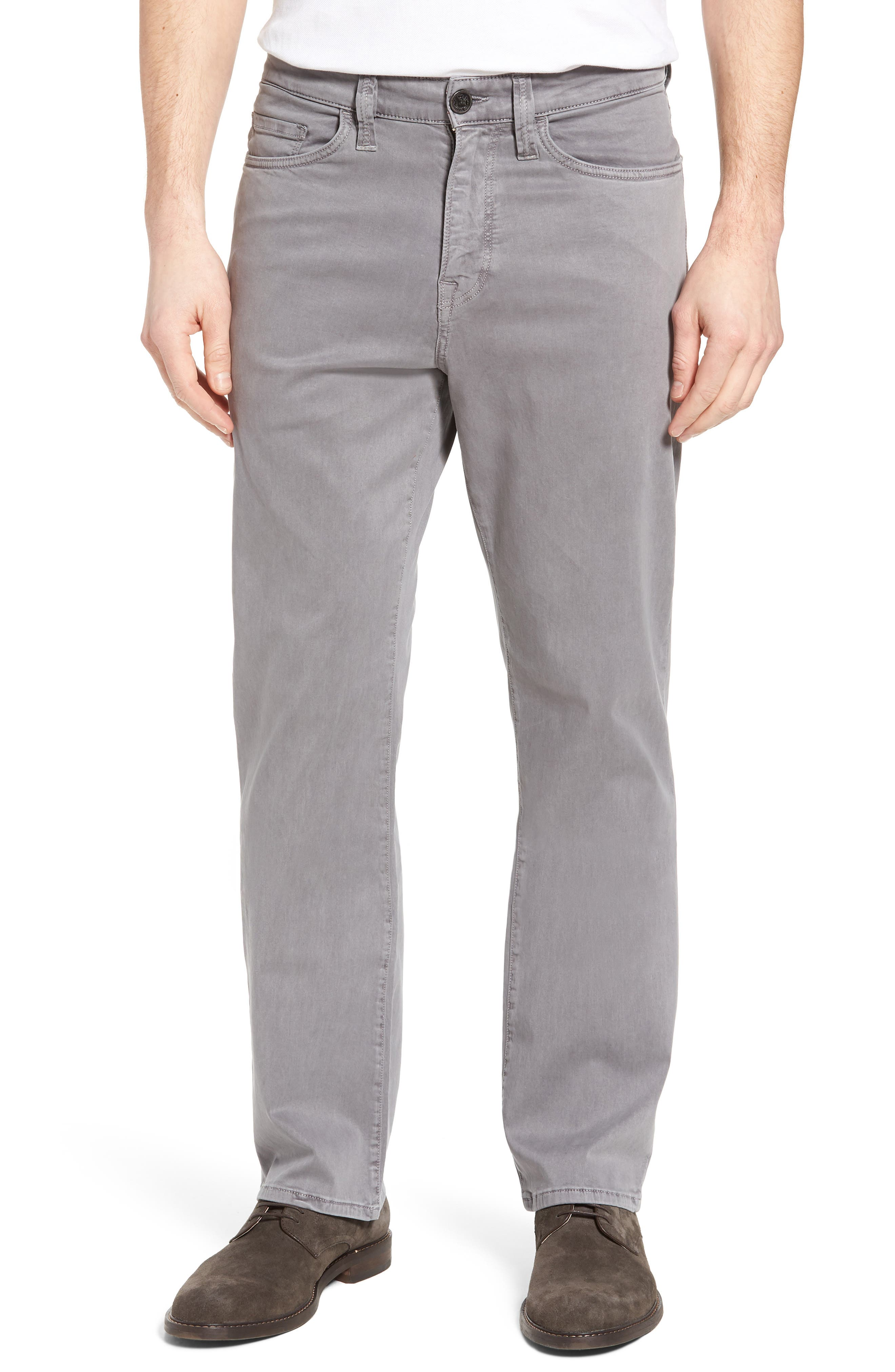 Charisma Relaxed Fit Twill Pants,                             Main thumbnail 1, color,                             Shark Twill