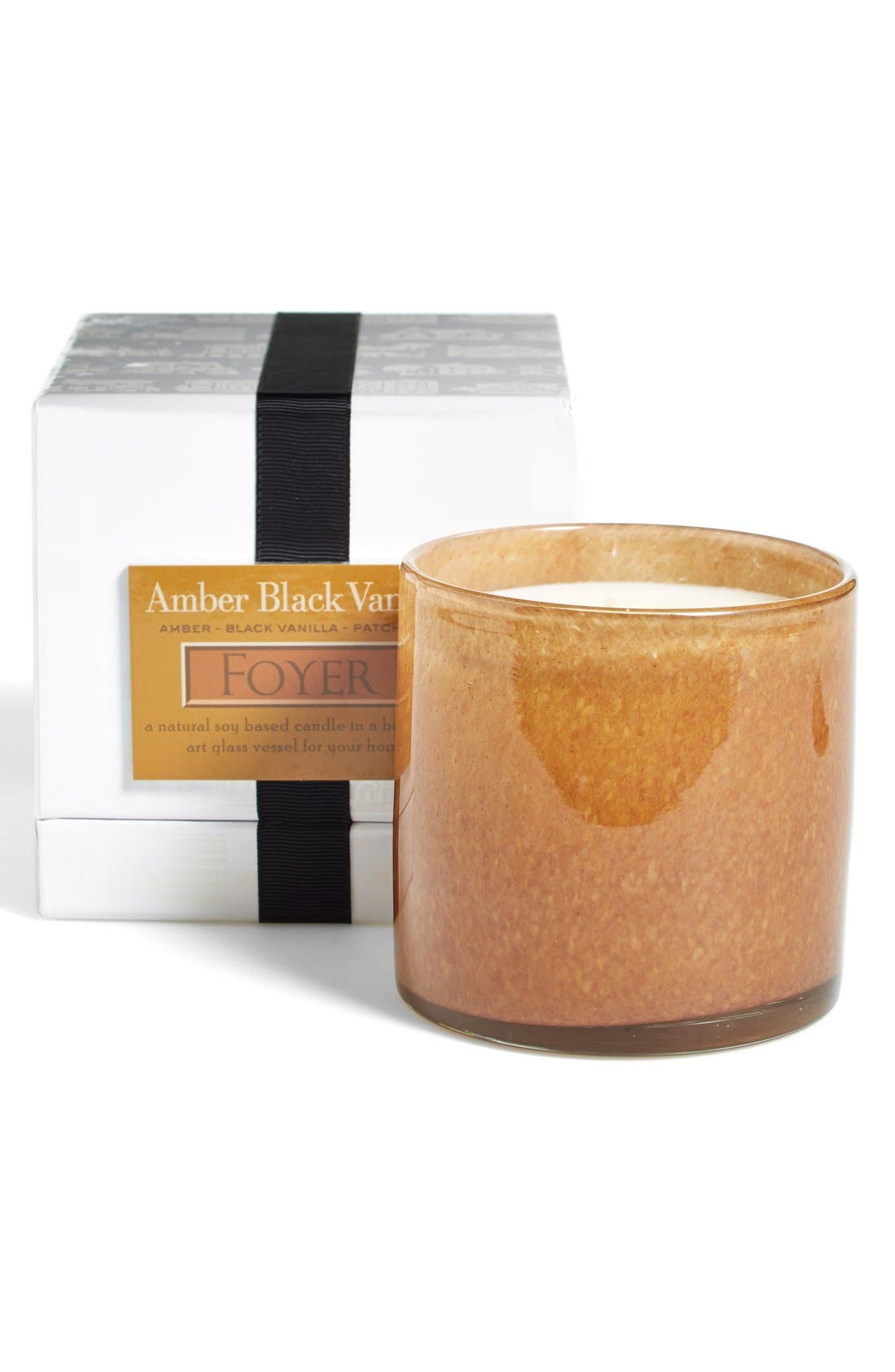 'Amber Black Vanilla - Foyer' Candle,                             Alternate thumbnail 2, color,                             No Color