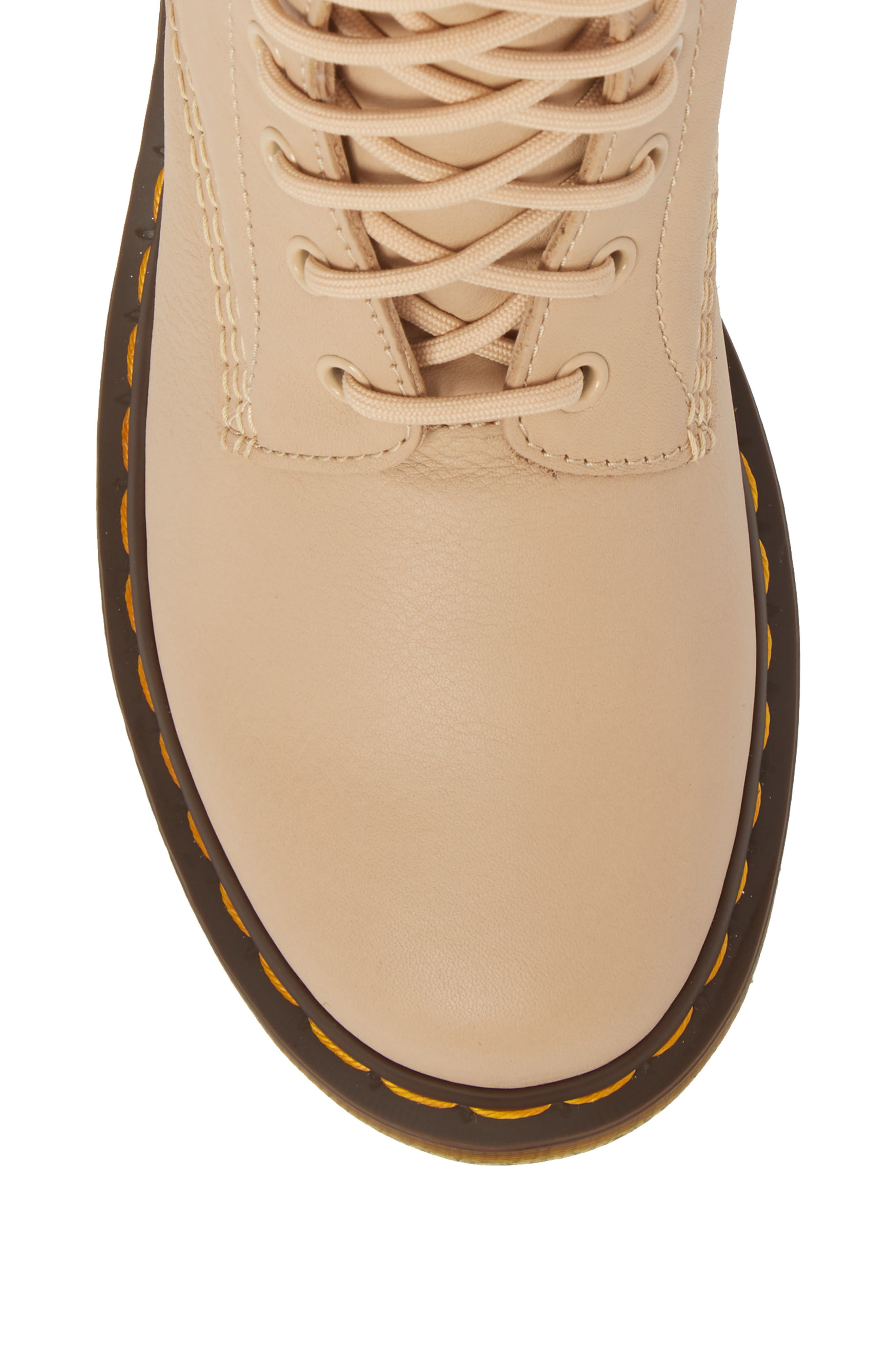 Pascal Boot,                             Alternate thumbnail 4, color,                             Nude Virginia Leather