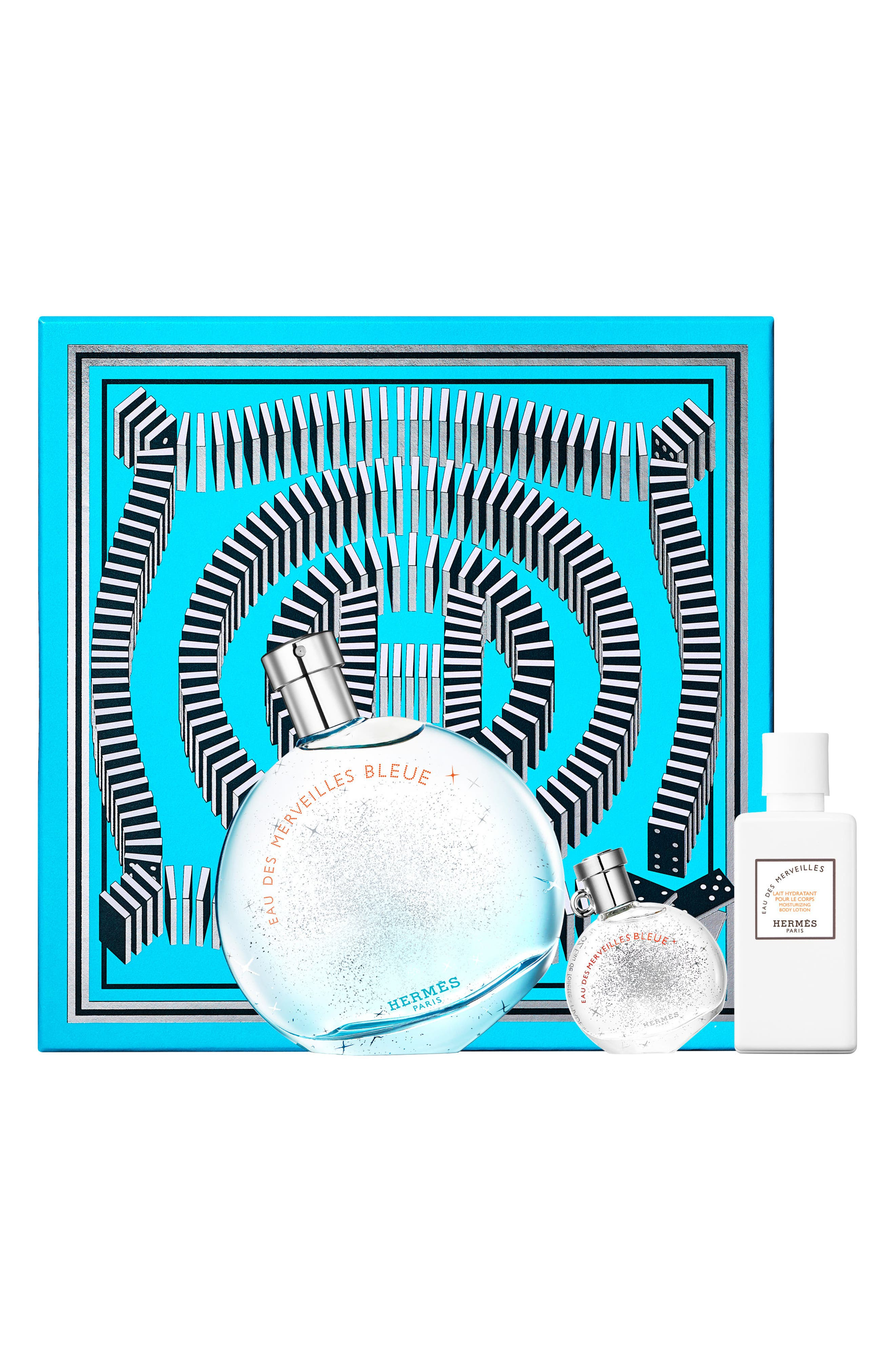 Hermès Eau des Merveilles Bleue - Eau de Toilette Gift Set
