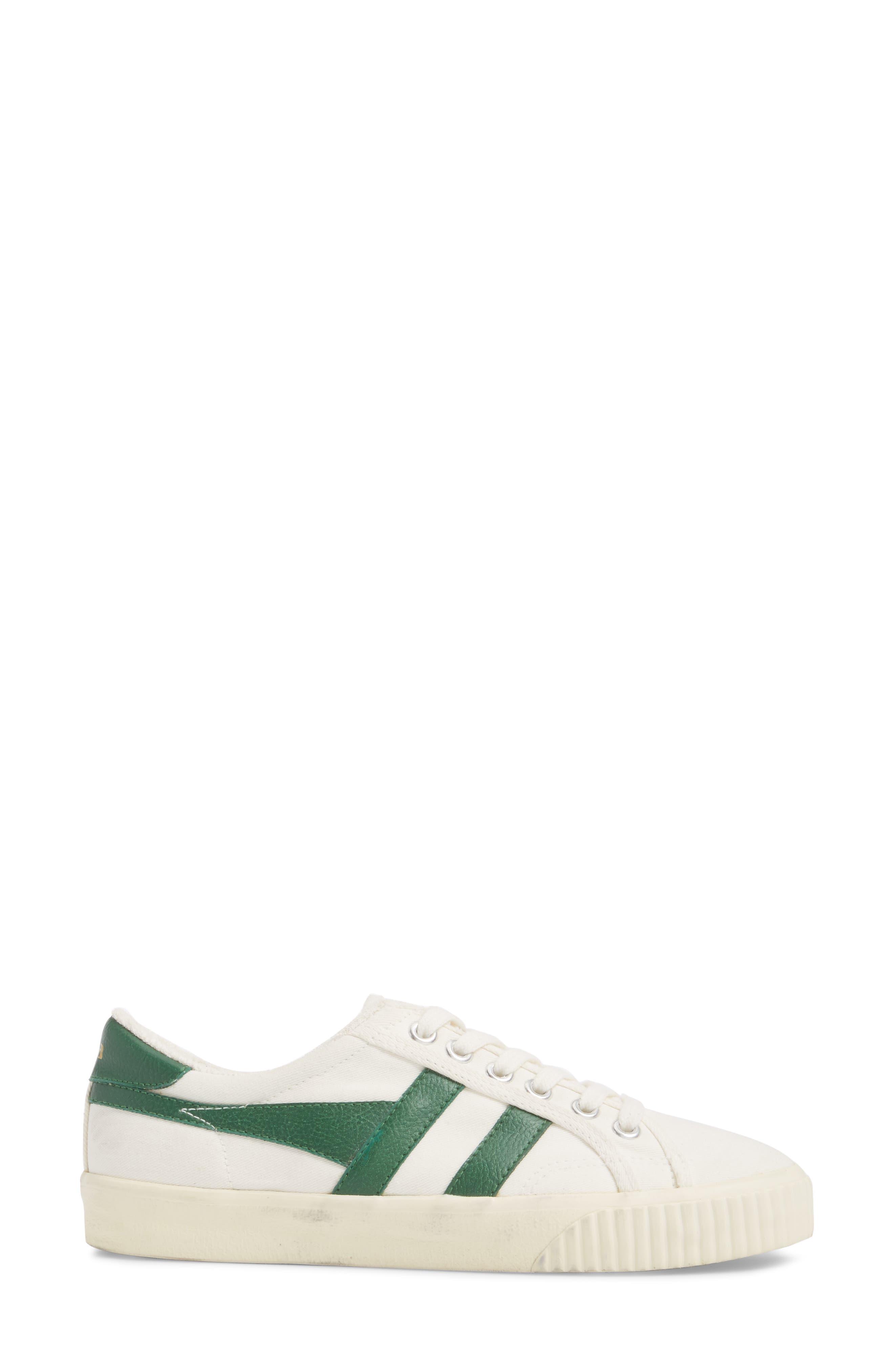 Tennis Mark Cox Sneaker,                             Alternate thumbnail 3, color,                             Off White/ Green