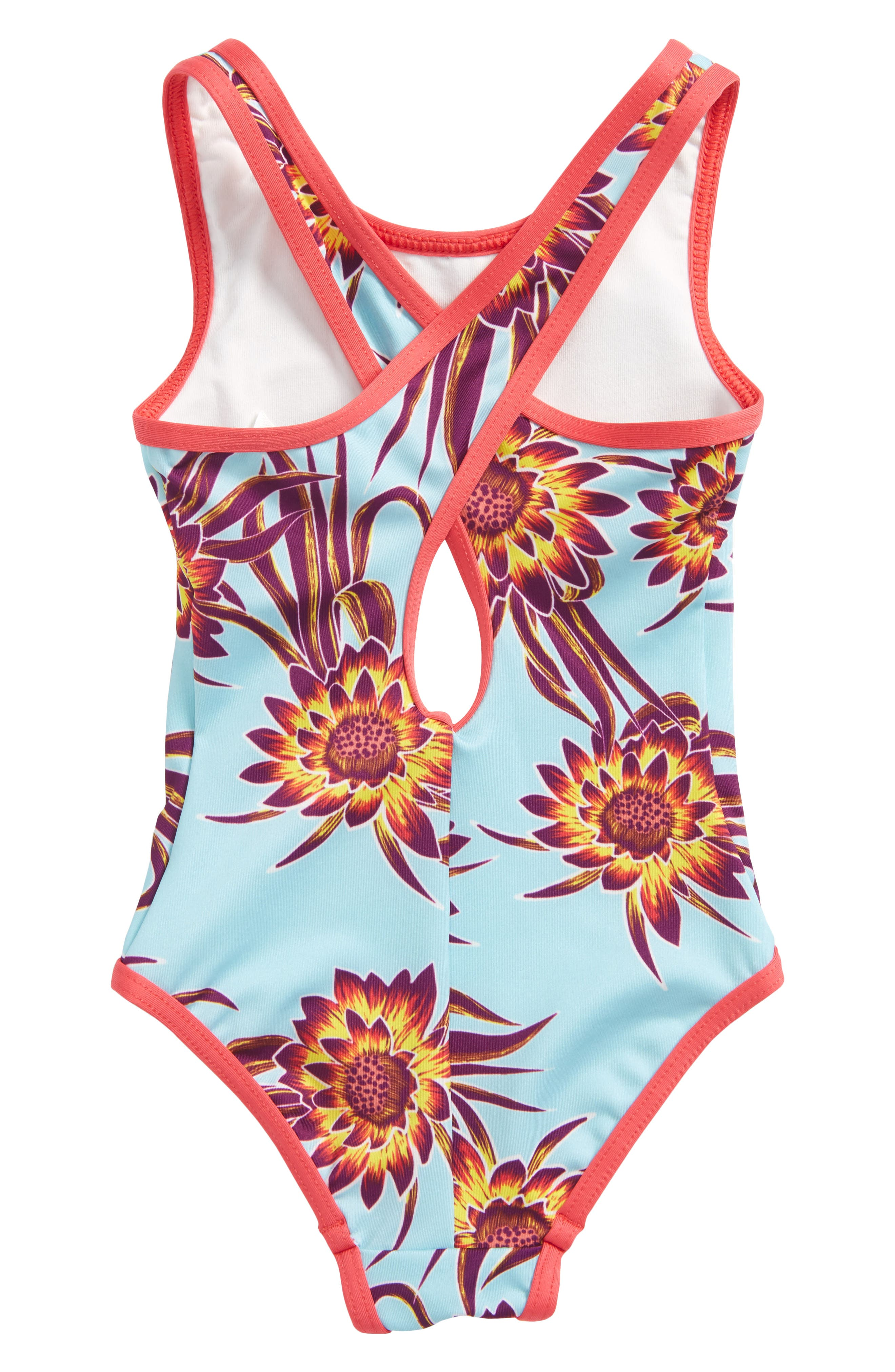 Alternate Image 2  - Patagonia QT One-Piece Swimsuit (Baby Girls)