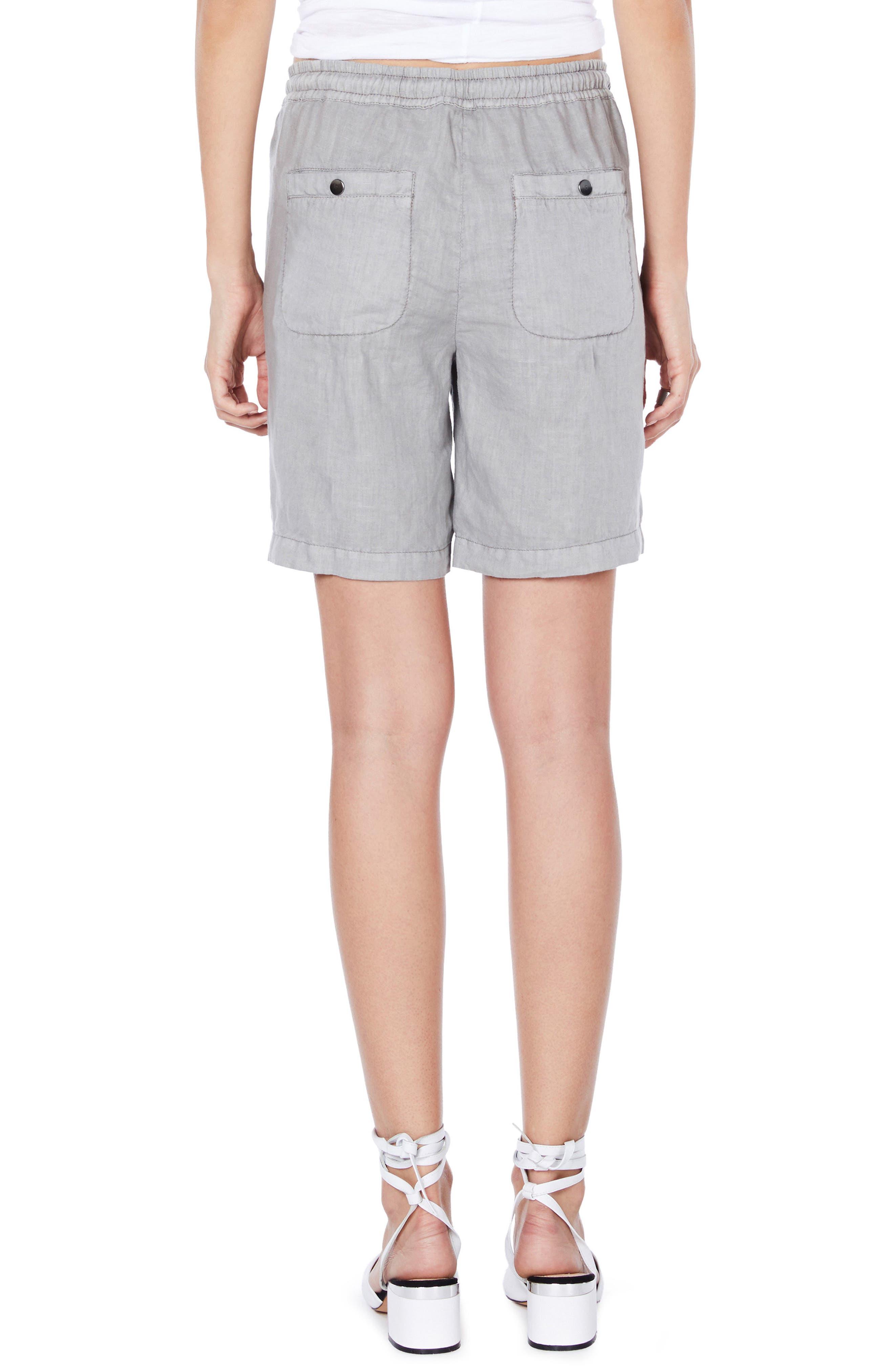 Alternate Image 2  - Michael Stars Linen Bermuda Shorts