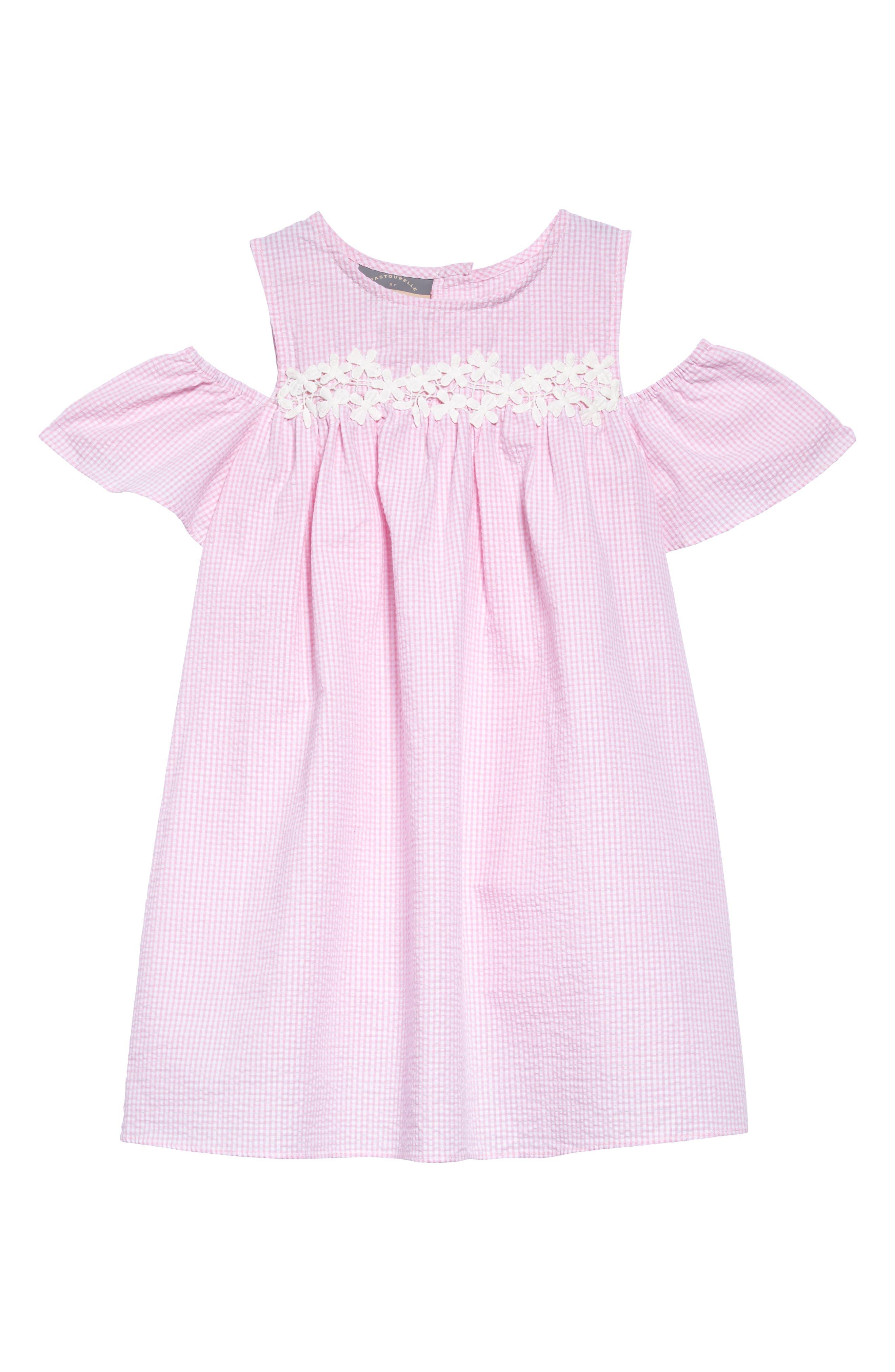 Pastourelle by Pippa & Julie Cold Shoulder Dress (Toddler Girls, Little Girls & Big Girls)
