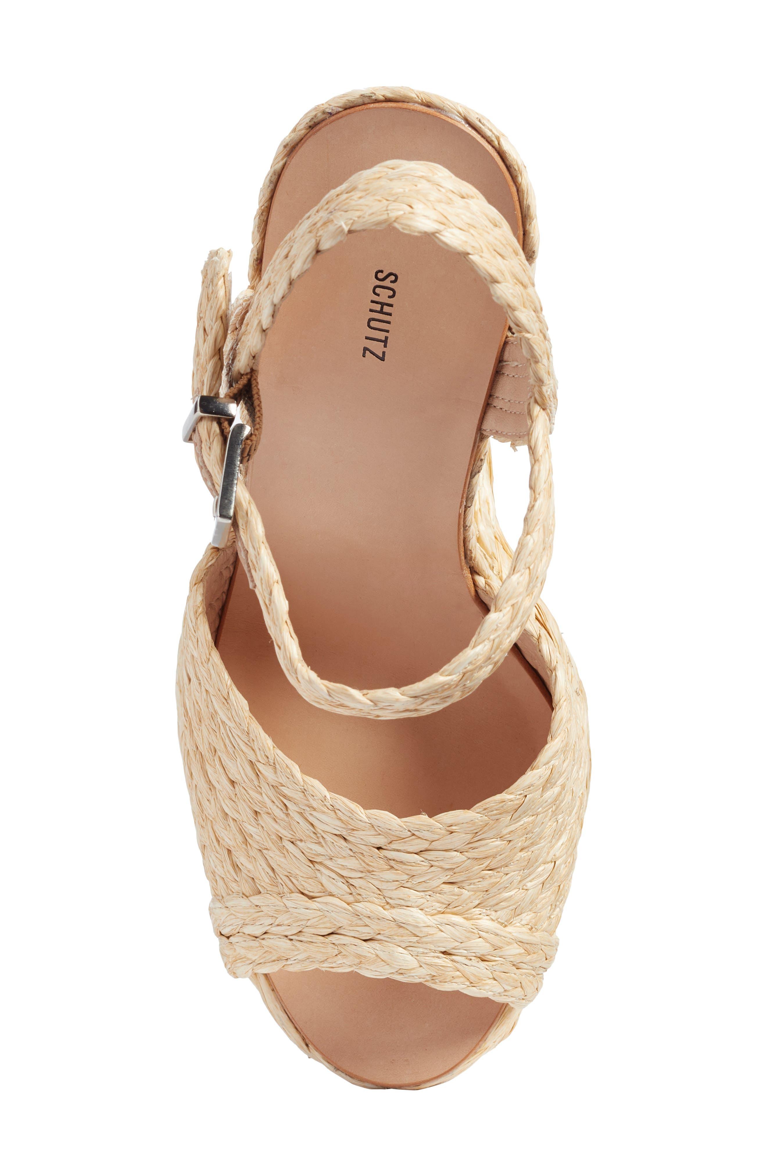 Alternate Image 6  - Schutz Belatrix Platform Wedge Sandal (Women)