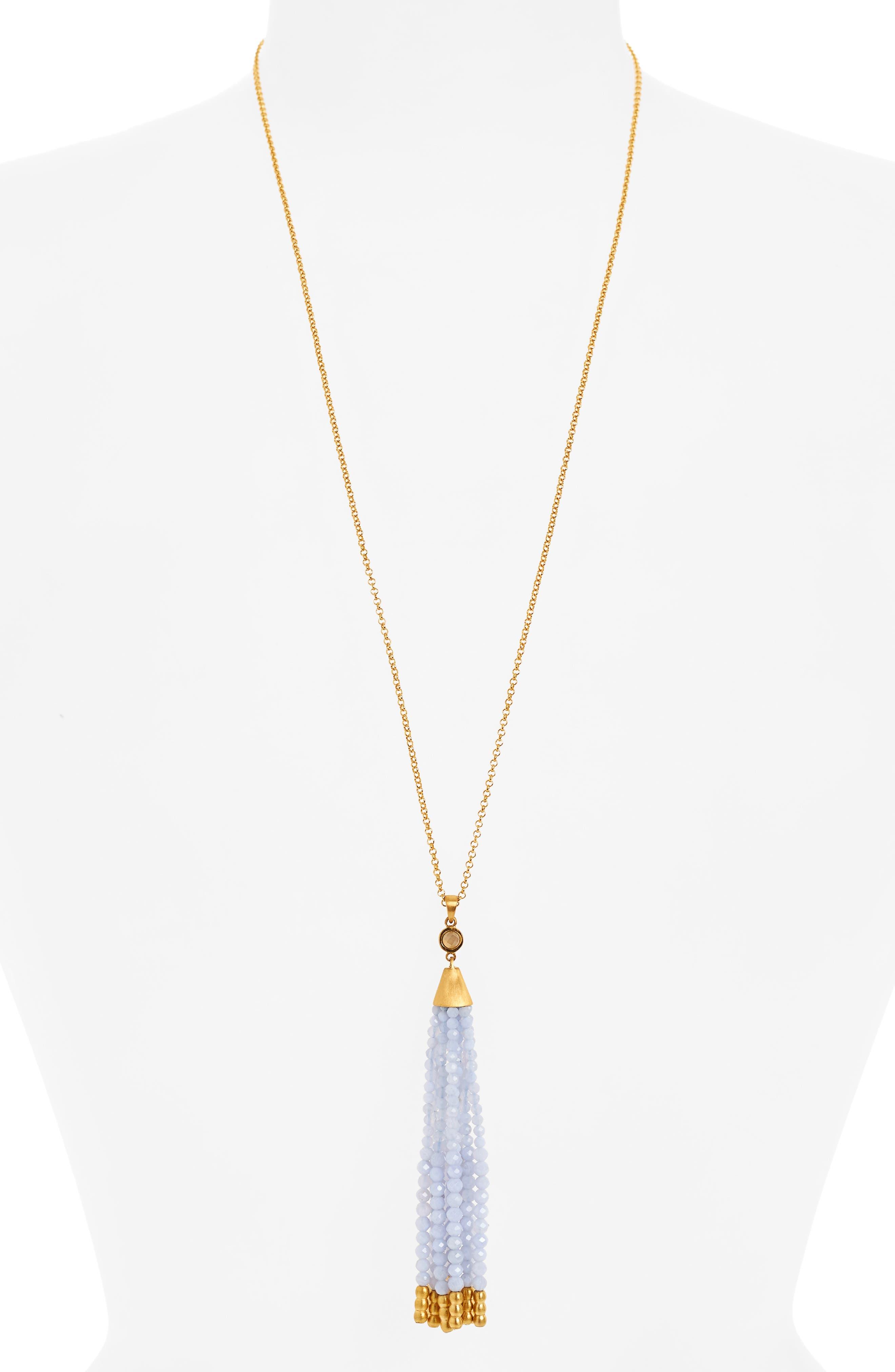 Dean Davidson Samba Tassel Pendant Necklace