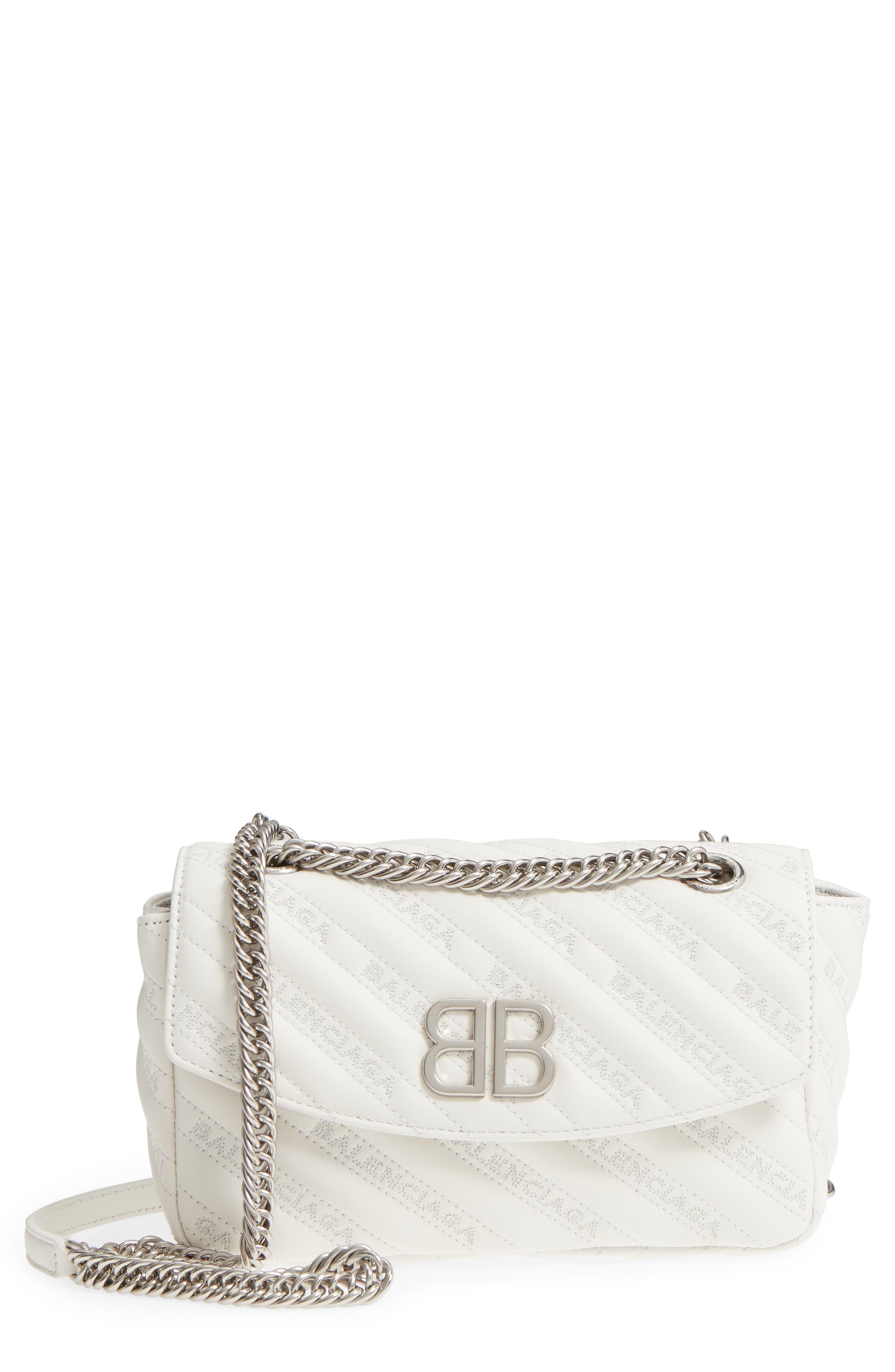 Balenciaga Small Matelassé Leather Shoulder Bag