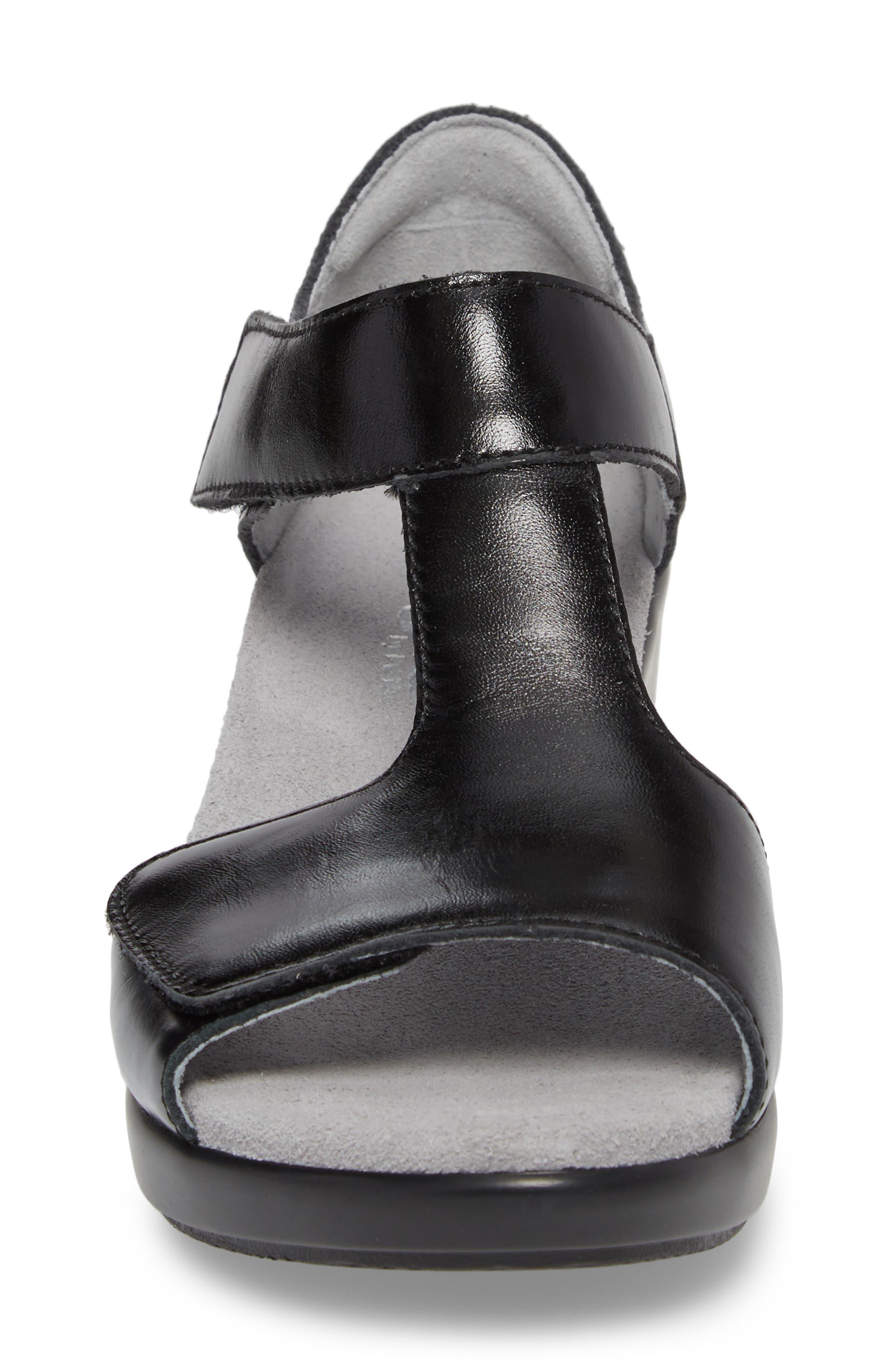 by PG Lite Riki T-Strap Sandal,                             Alternate thumbnail 4, color,                             Yaz Leather