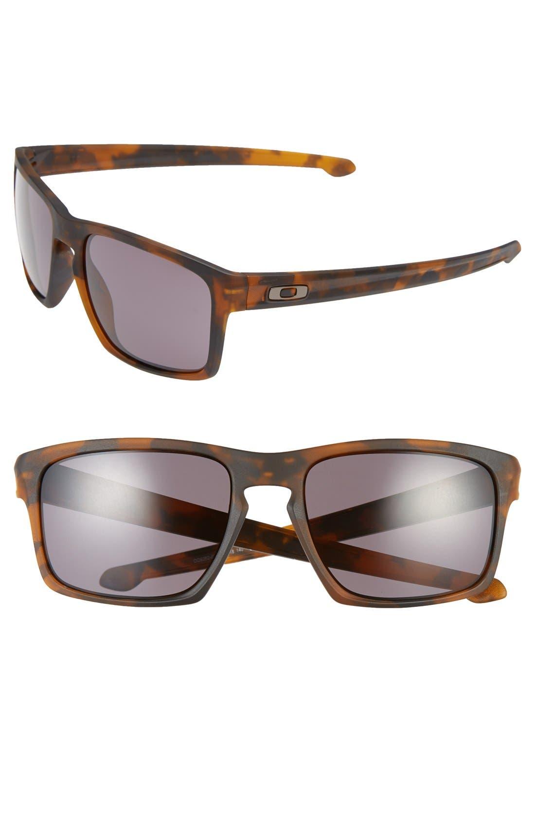 'Sliver<sup>®</sup> F' 59mm Sunglasses,                             Main thumbnail 1, color,                             Matte Tortoise/ Warm Grey