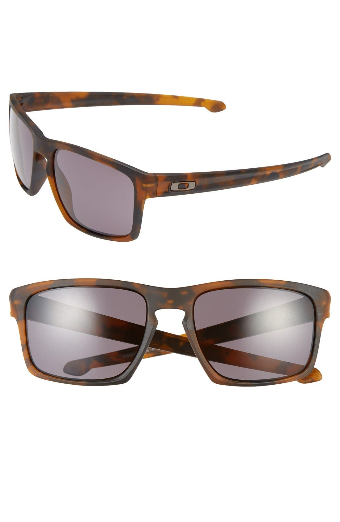 'Sliver<sup>®</sup> F' 59mm Sunglasses,                         Main,                         color, Matte Tortoise/ Warm Grey