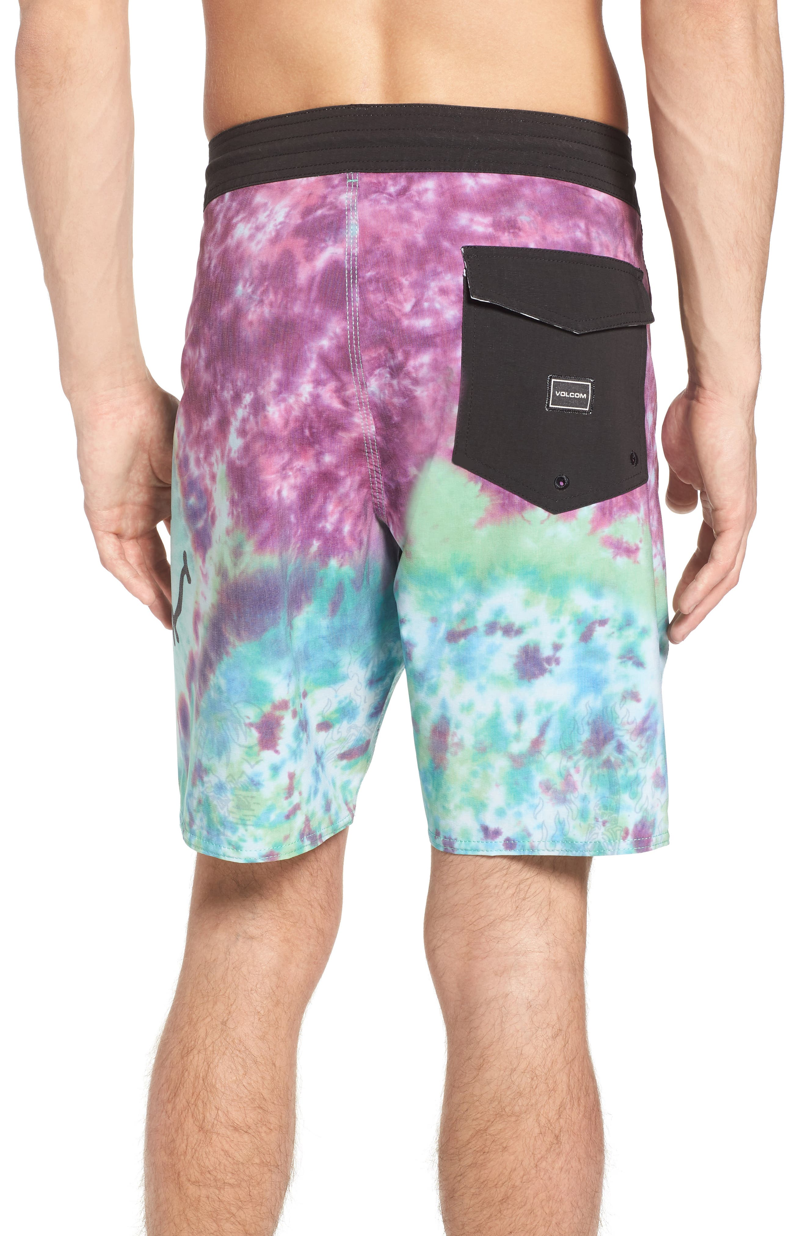 Chill Out Stoney Board Shorts,                             Alternate thumbnail 2, color,                             Multi