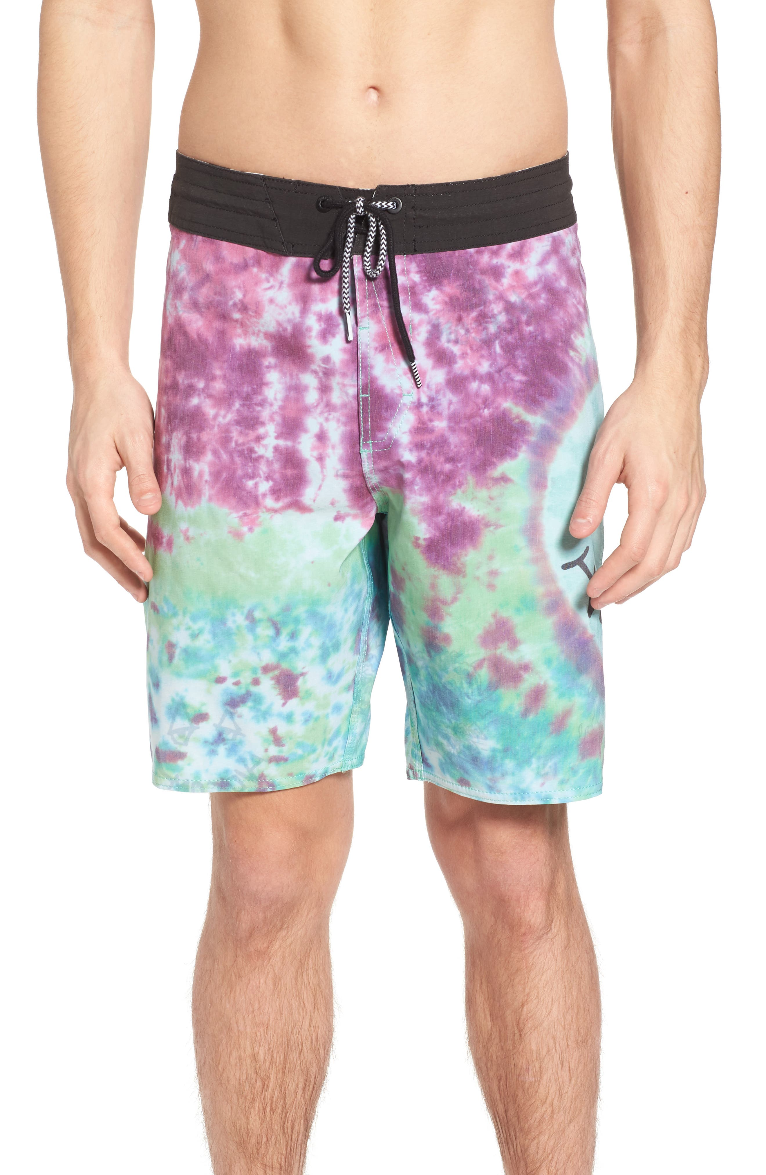 Chill Out Stoney Board Shorts,                             Main thumbnail 1, color,                             Multi