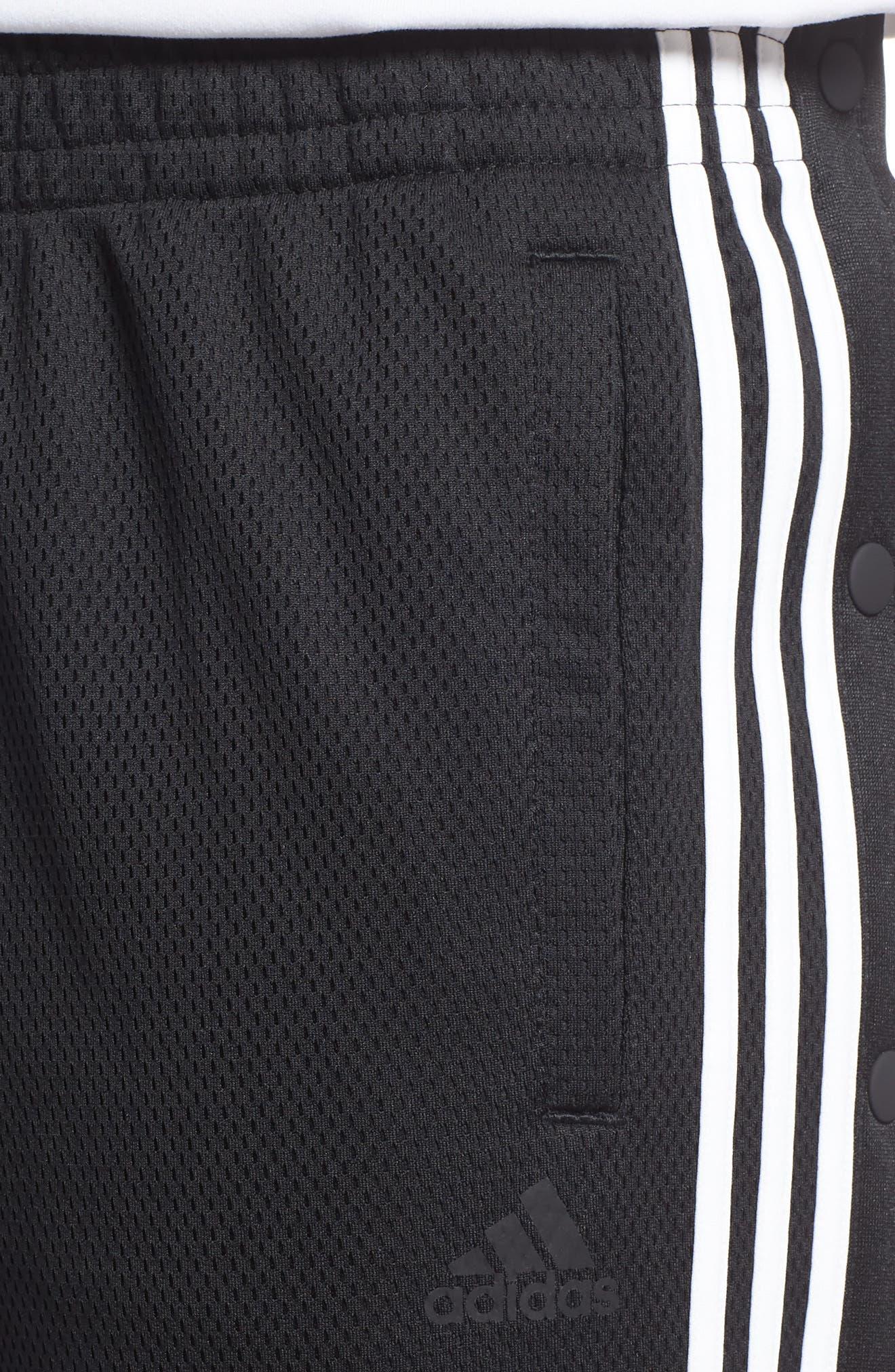 ID Tearaway Track Pants,                             Alternate thumbnail 5, color,                             Black