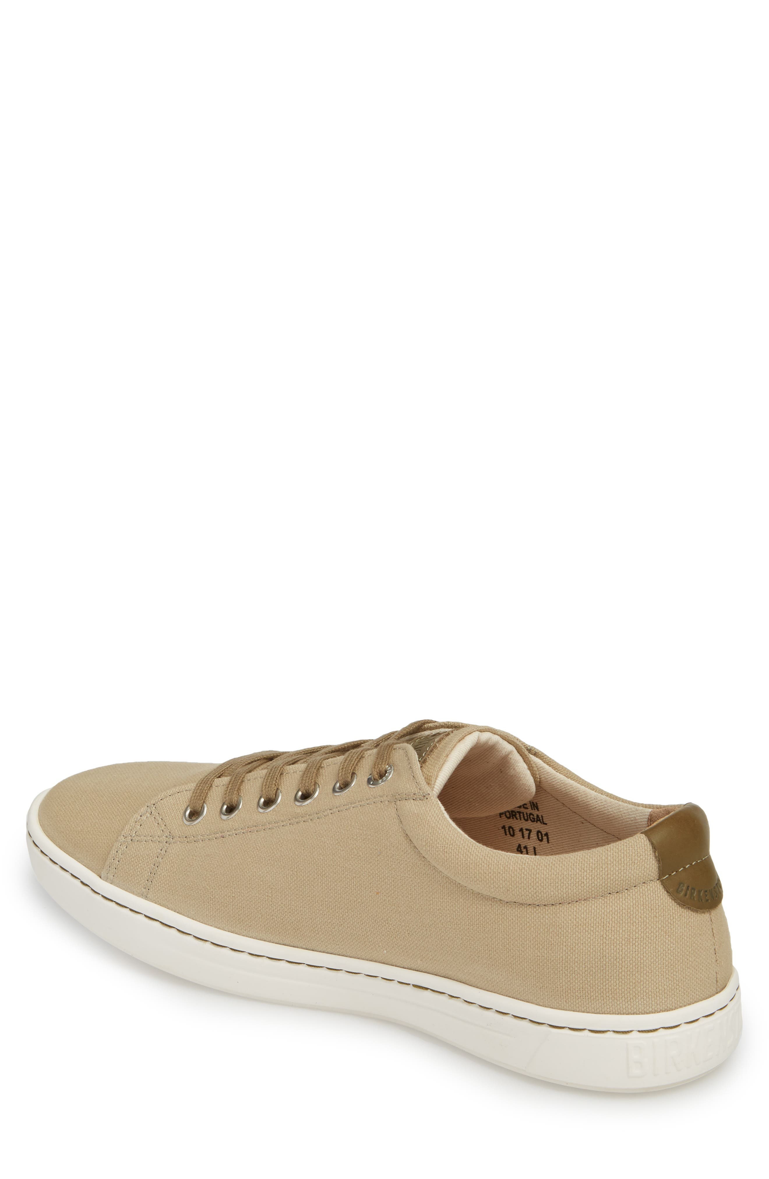 Arran Sneaker,                             Alternate thumbnail 2, color,                             Khaki Canvas