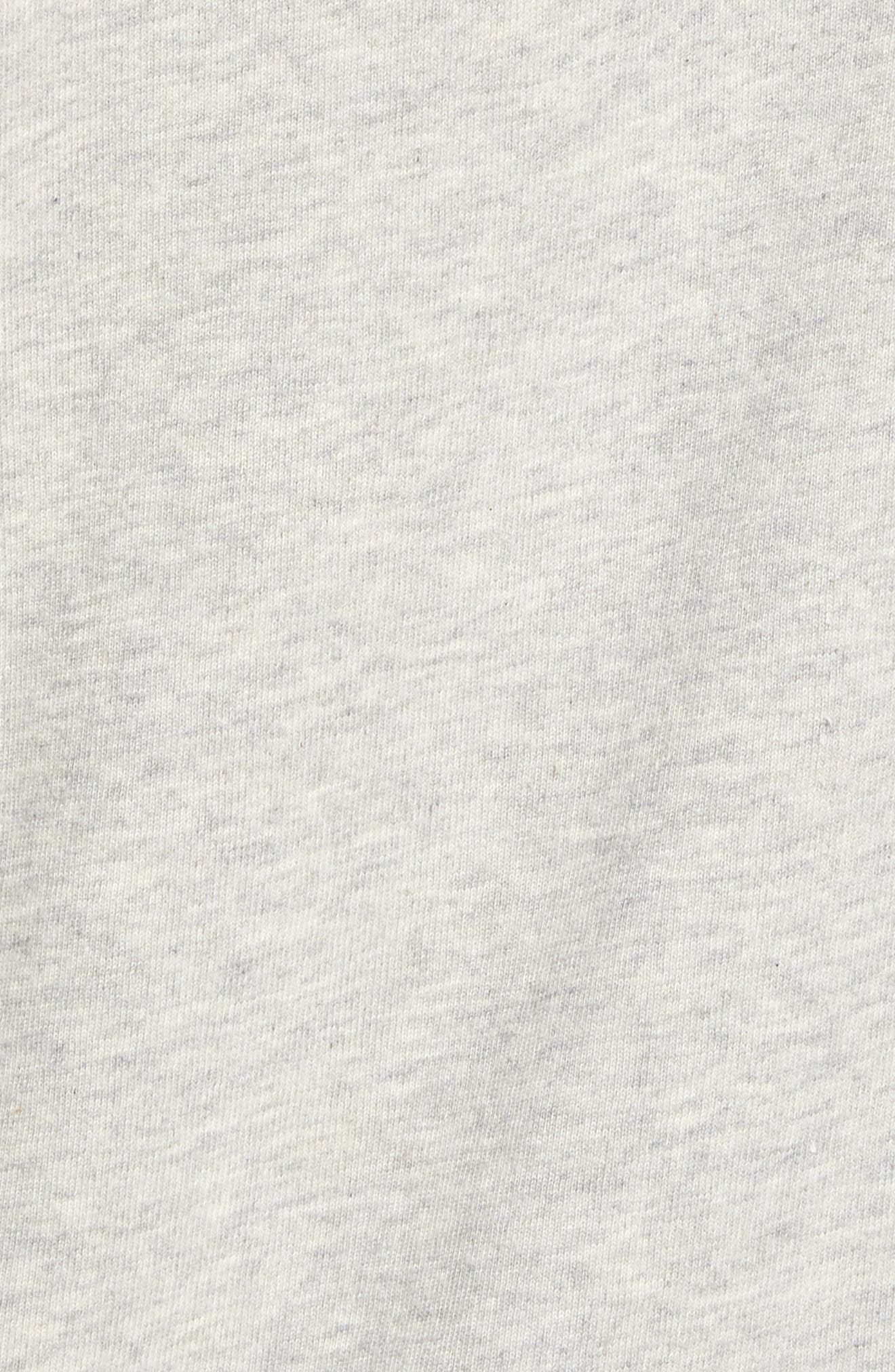 Towel T-Shirt,                             Alternate thumbnail 5, color,                             Grey Light Heather
