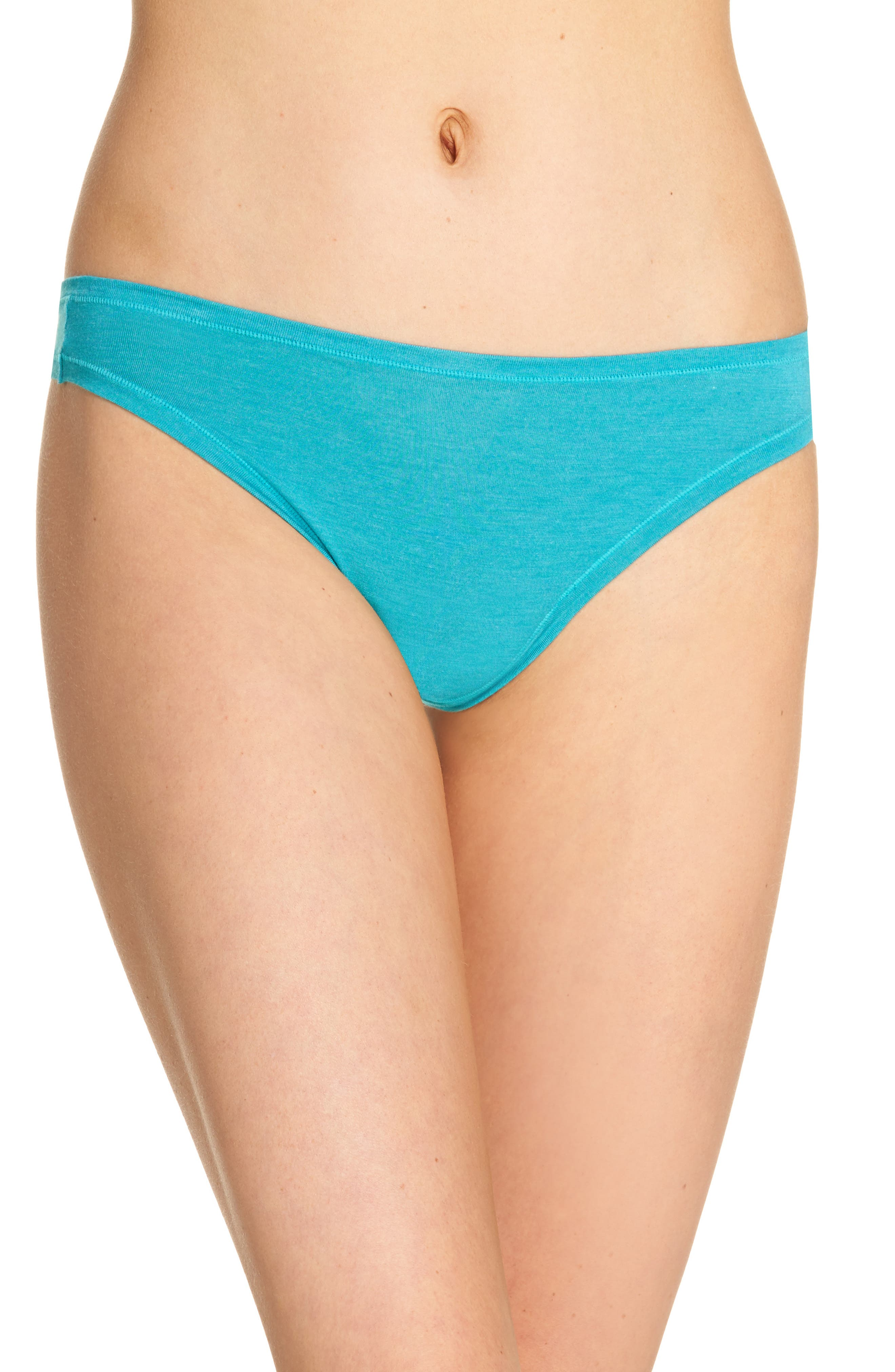 Bliss Essence Thong,                         Main,                         color, Turquoise