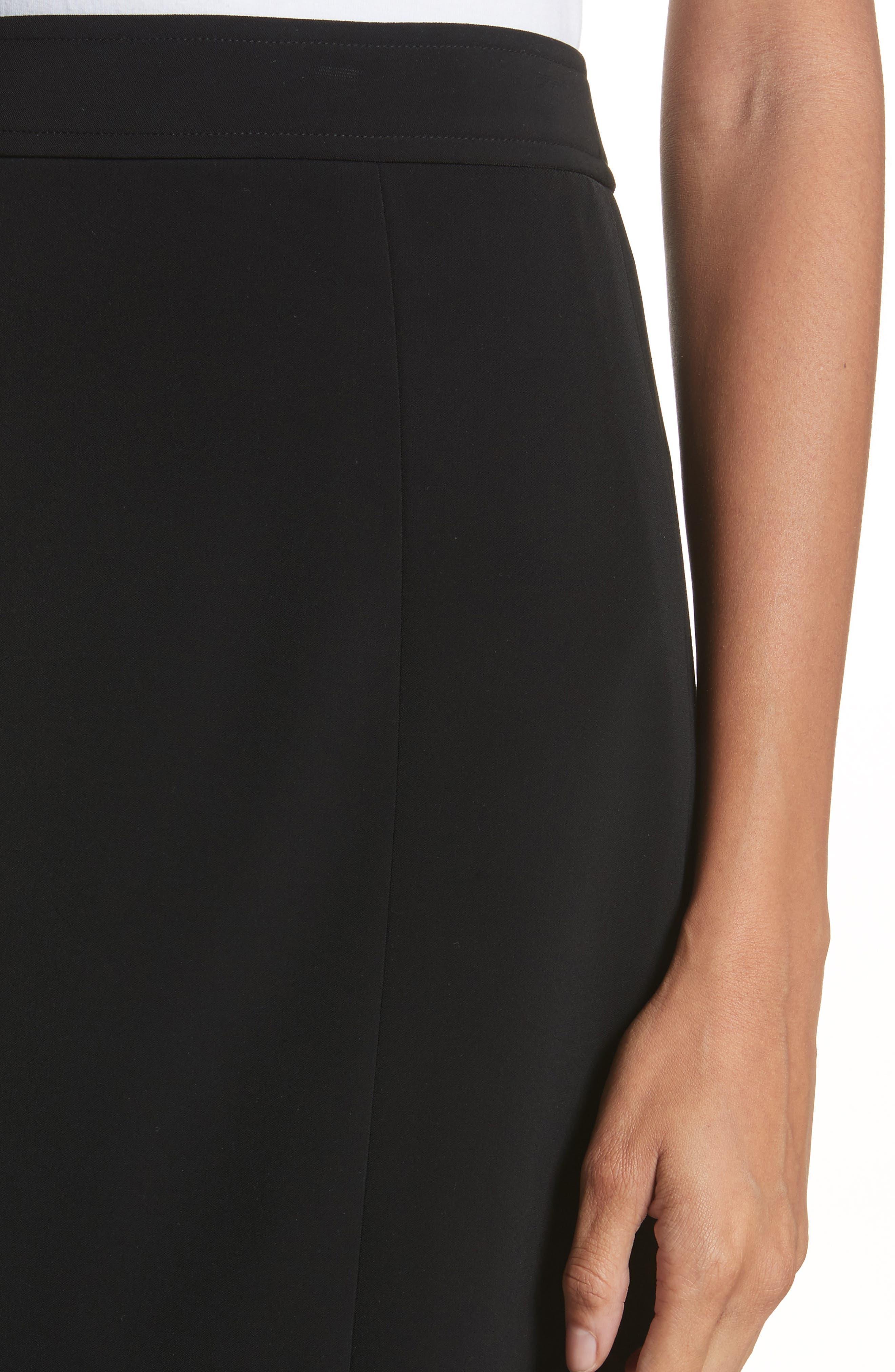 Pencil Skirt,                             Alternate thumbnail 4, color,                             Black
