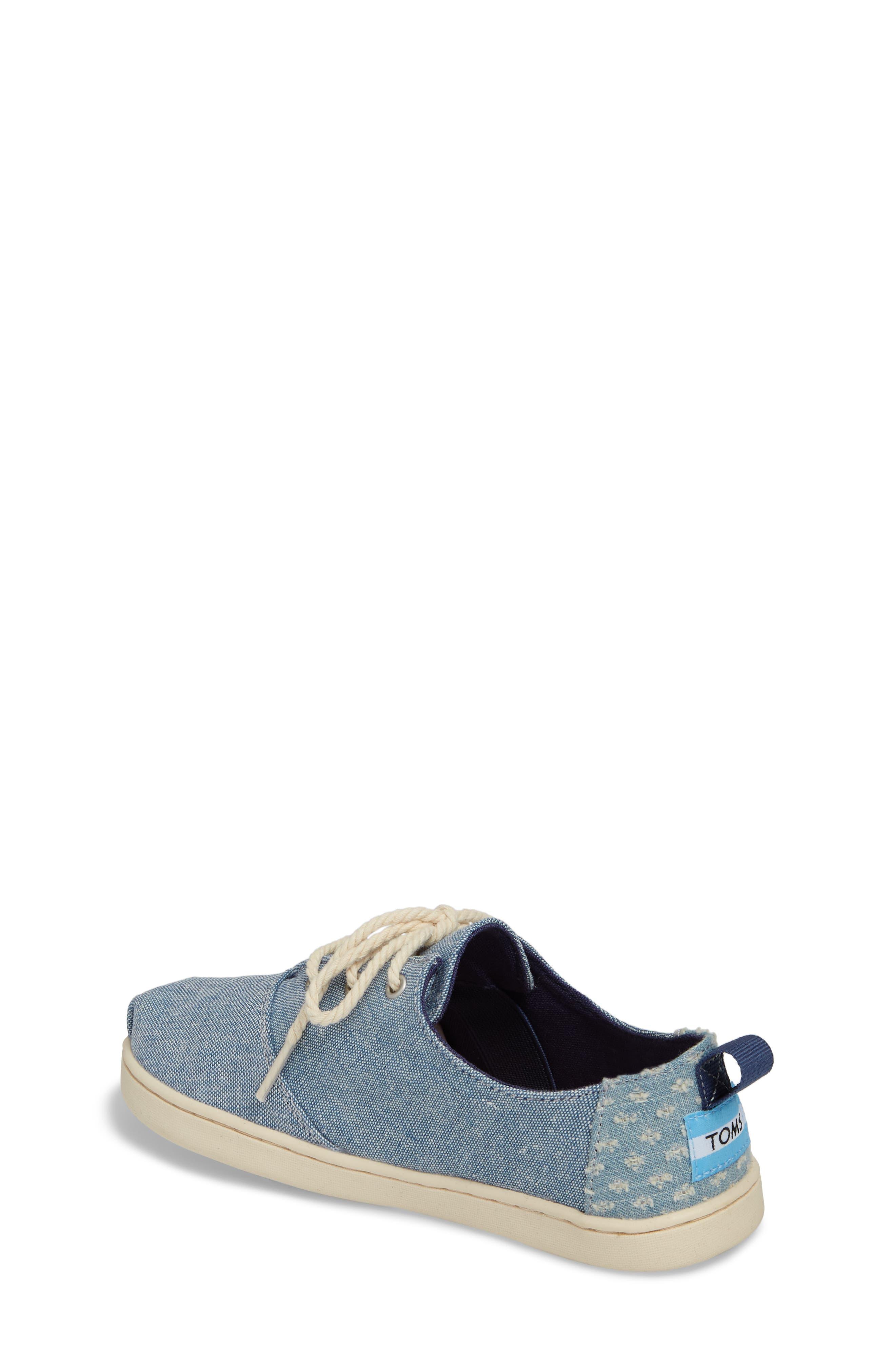Lumin Sneaker,                             Alternate thumbnail 2, color,                             Blue Chambray