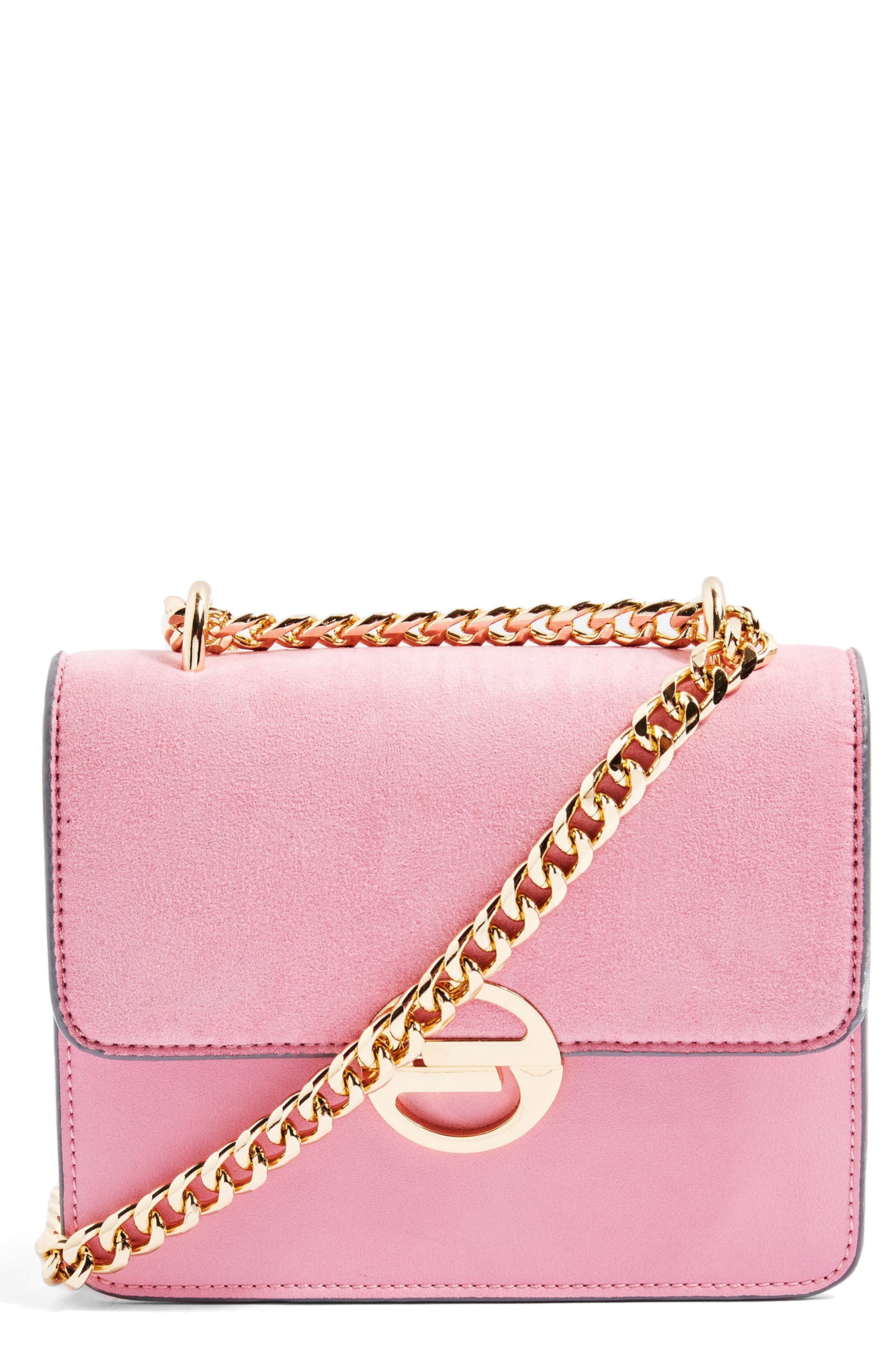 Clean Rae Crossbody Bag,                             Main thumbnail 1, color,                             Pink