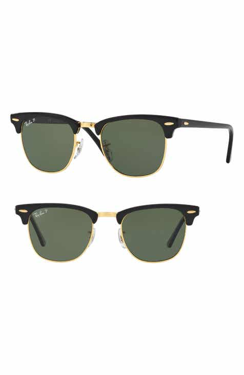 4bf1bf79c9 Ray-Ban Clubmaster 51mm Polarized Sunglasses