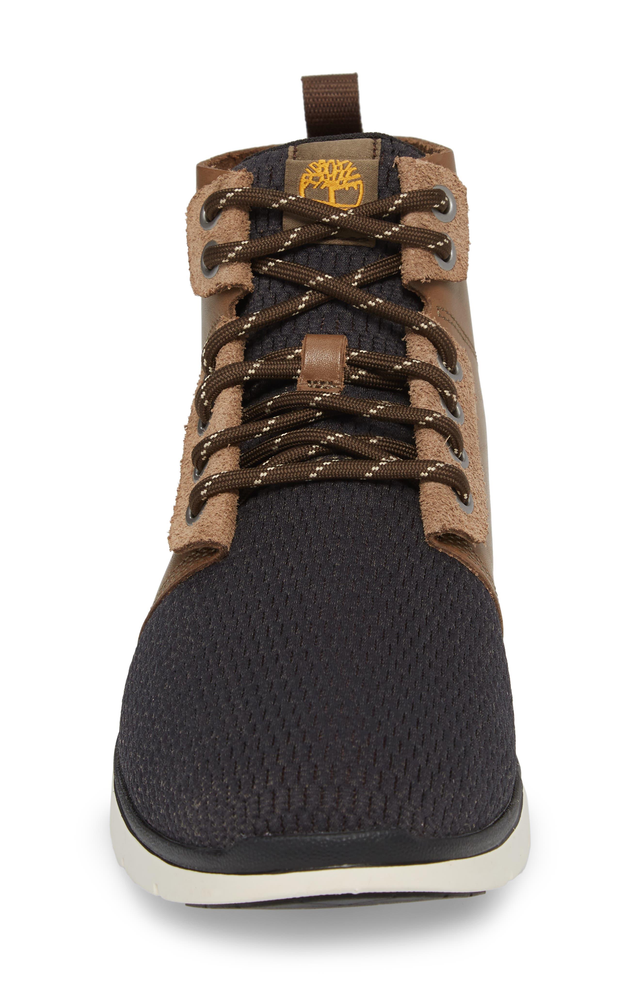 Killington Plain Toe Boot,                             Alternate thumbnail 4, color,                             Buckskin Leather
