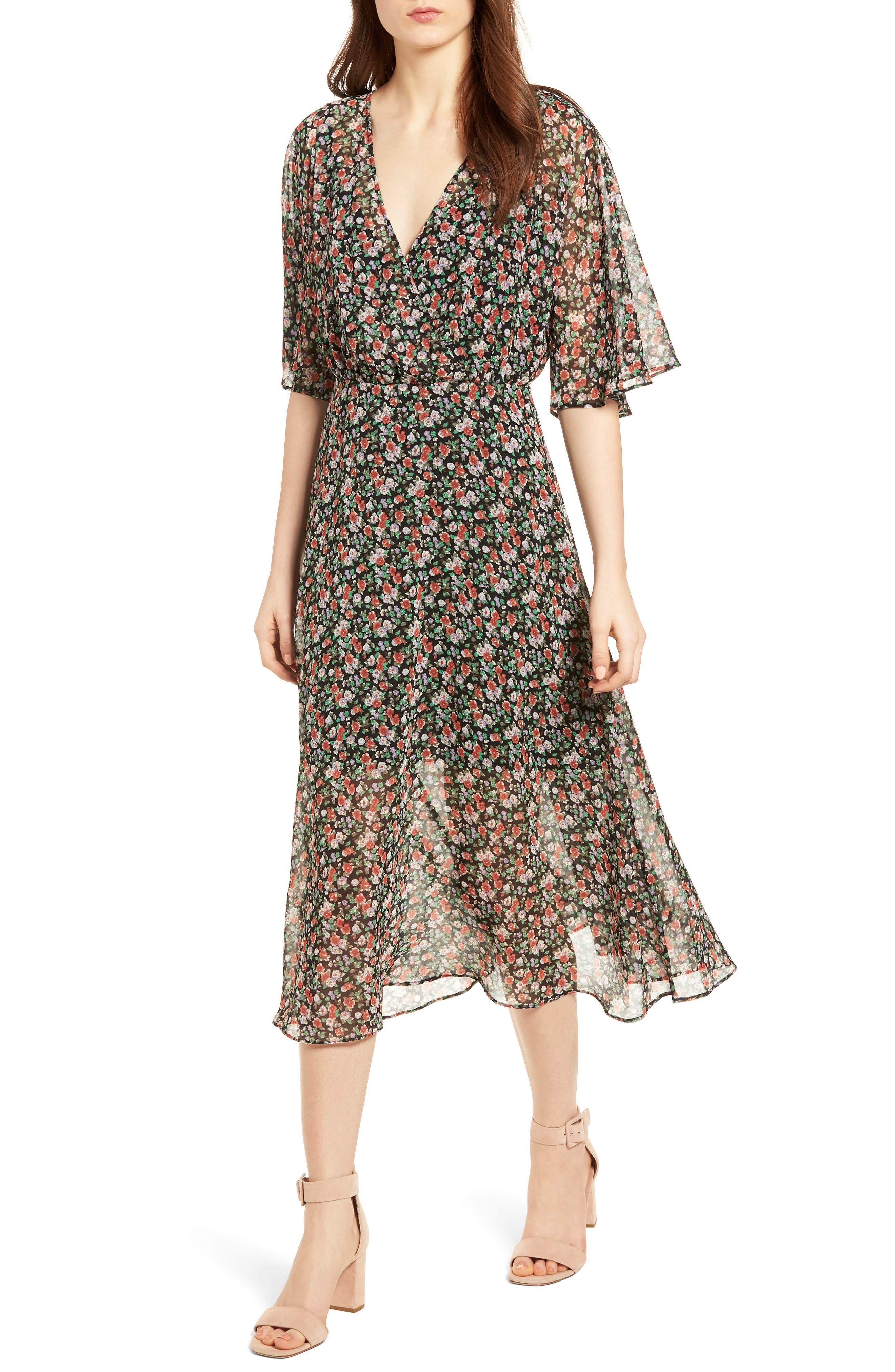 Ali Dress,                         Main,                         color, Black Multi