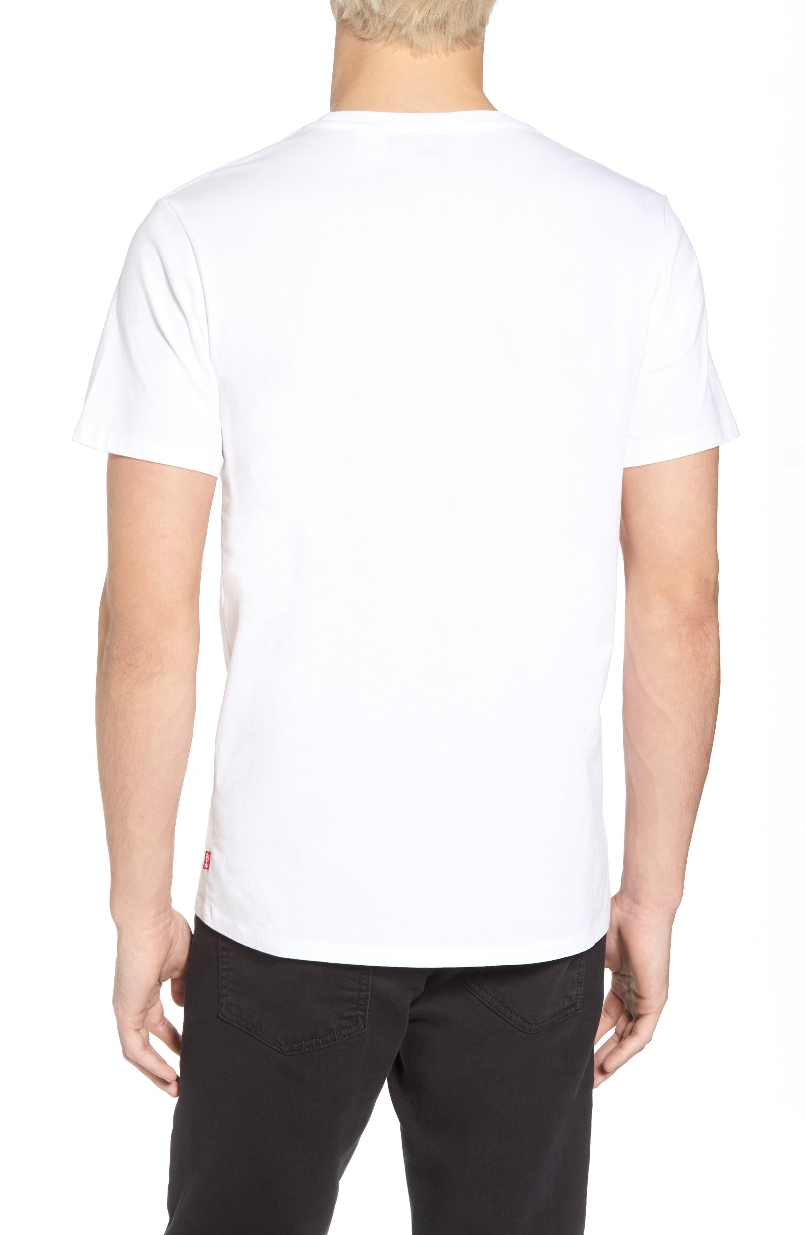 Housemark Graphic T-Shirt,                             Alternate thumbnail 2, color,                             Housemark White
