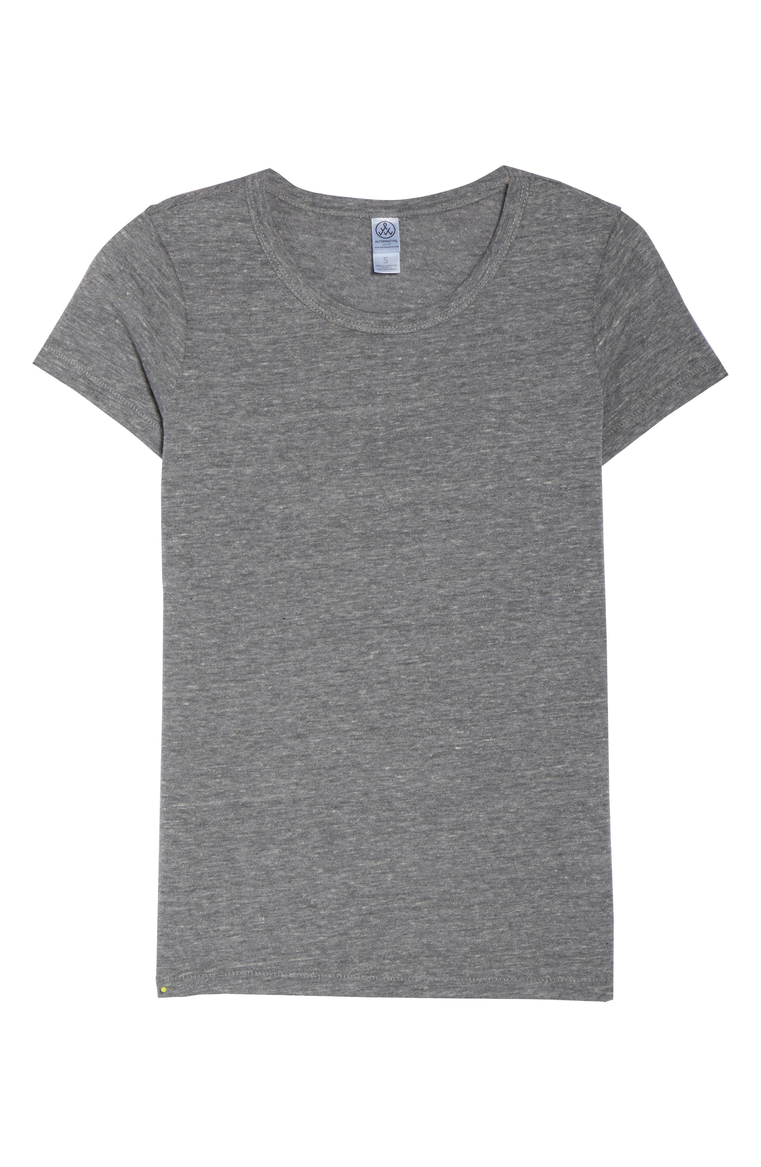 Ideal Tee,                             Alternate thumbnail 4, color,                             Eco Grey