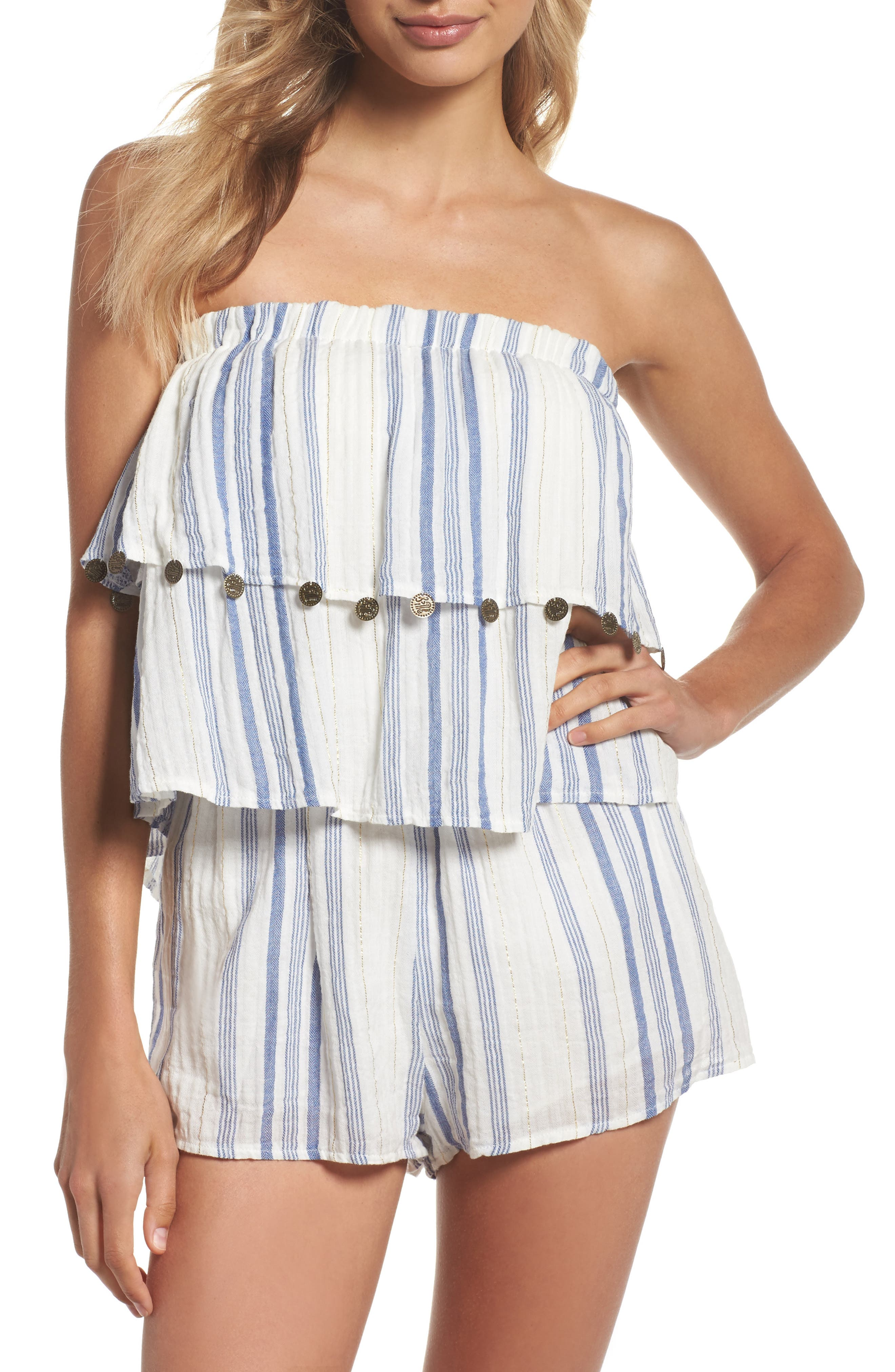Alternate Image 1 Selected - Surf Gypsy Bali Cover-Up Romper