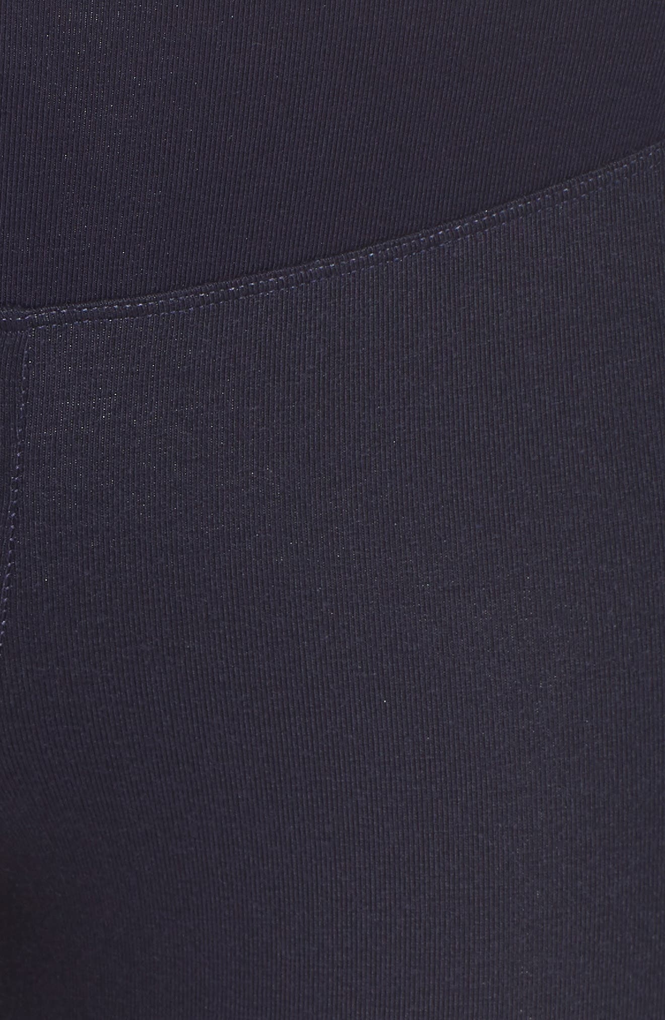 Coated Side Panel Ankle Leggings,                             Alternate thumbnail 5, color,                             Evening Blue